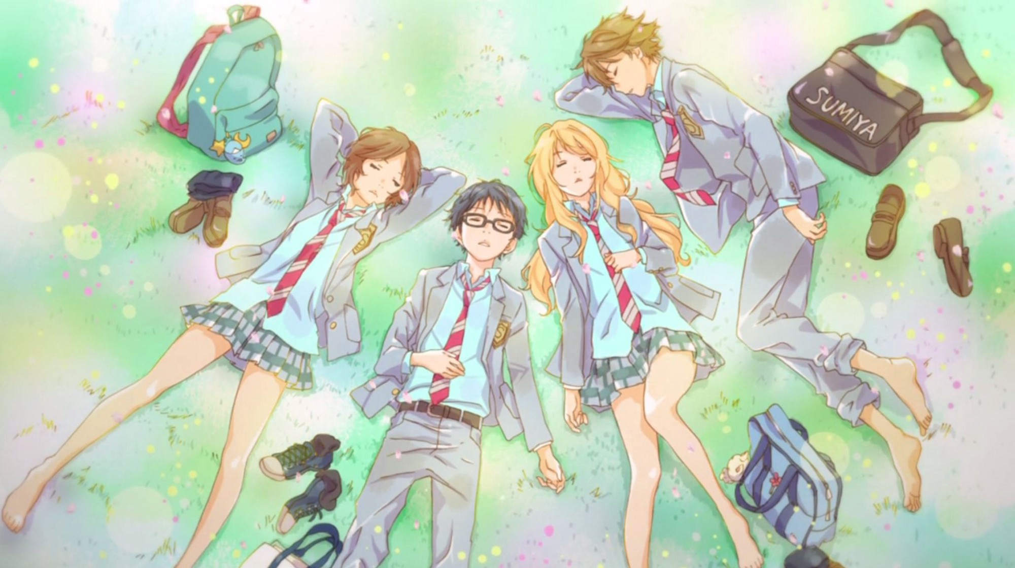Resultado de imagen de your lie in april