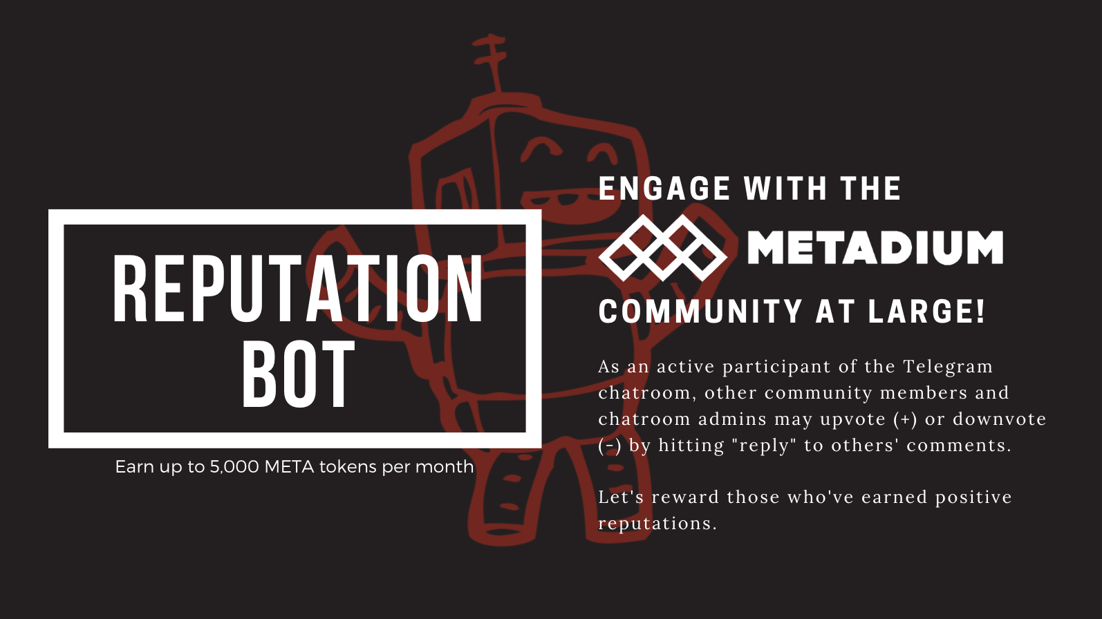 To Make Sure Active Community Members Stay Updated And En Ed With Metadium Weve Provided Two Ways For Metadians To Earn Meta Tokens For The Remainder Of