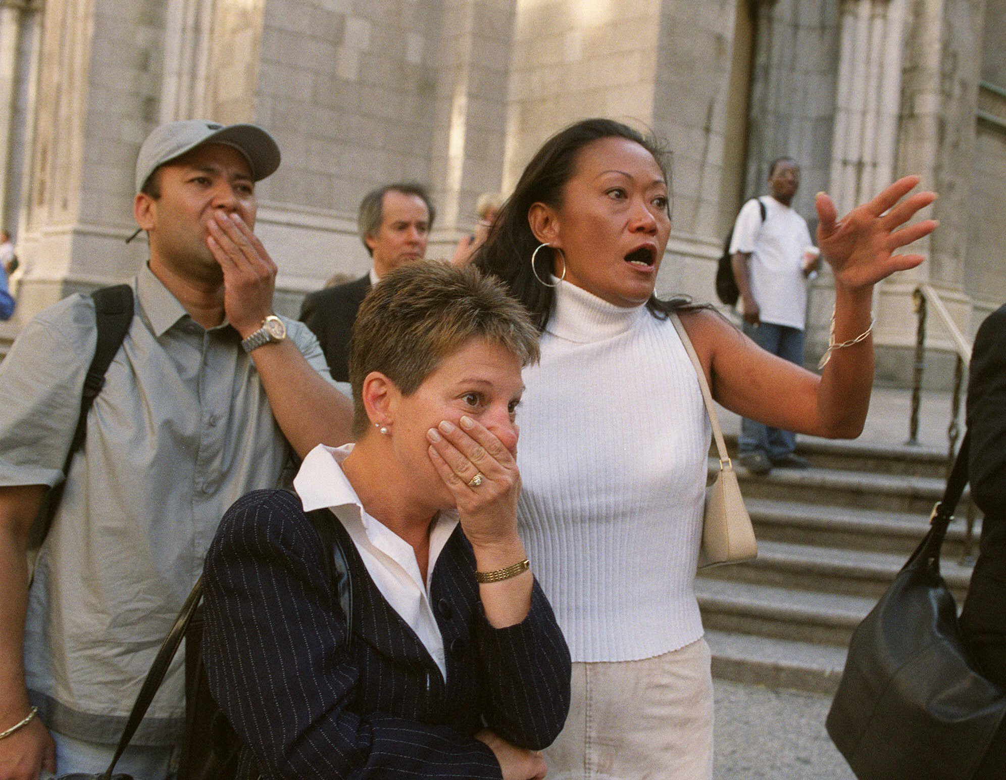 Photos: What we looked like watching 9/11 as it happened