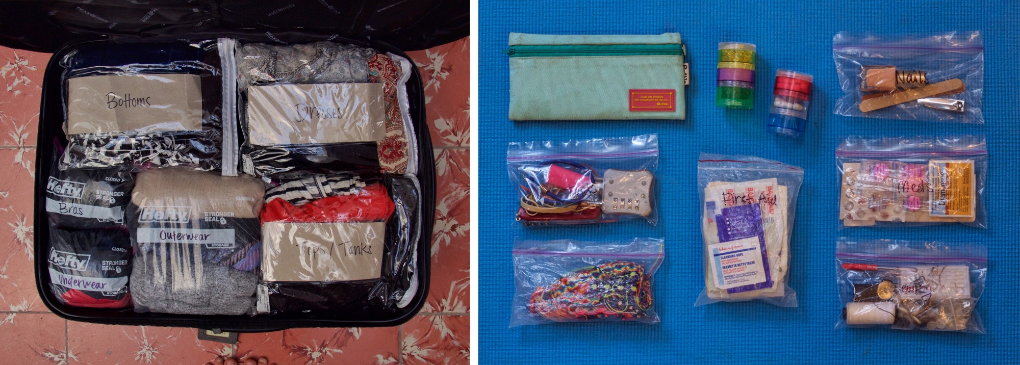 Space saving & organizer bags