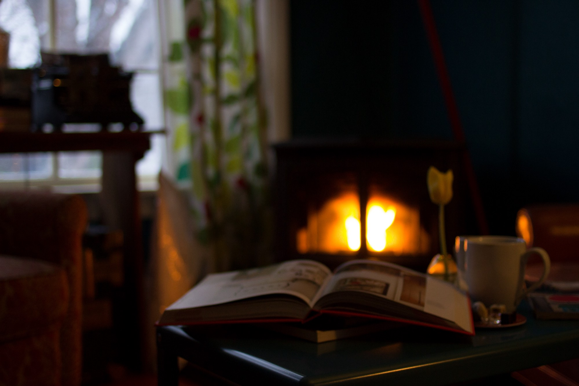 How to return the warmth and love in the family hearth