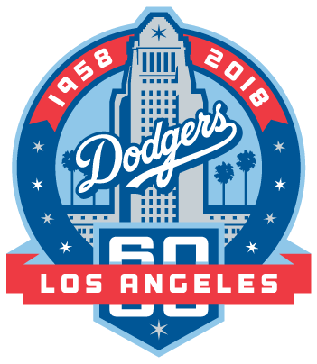 Dodgers unveil 60th anniversary logo dodger insider dodgers unveil 60th anniversary logo altavistaventures Image collections