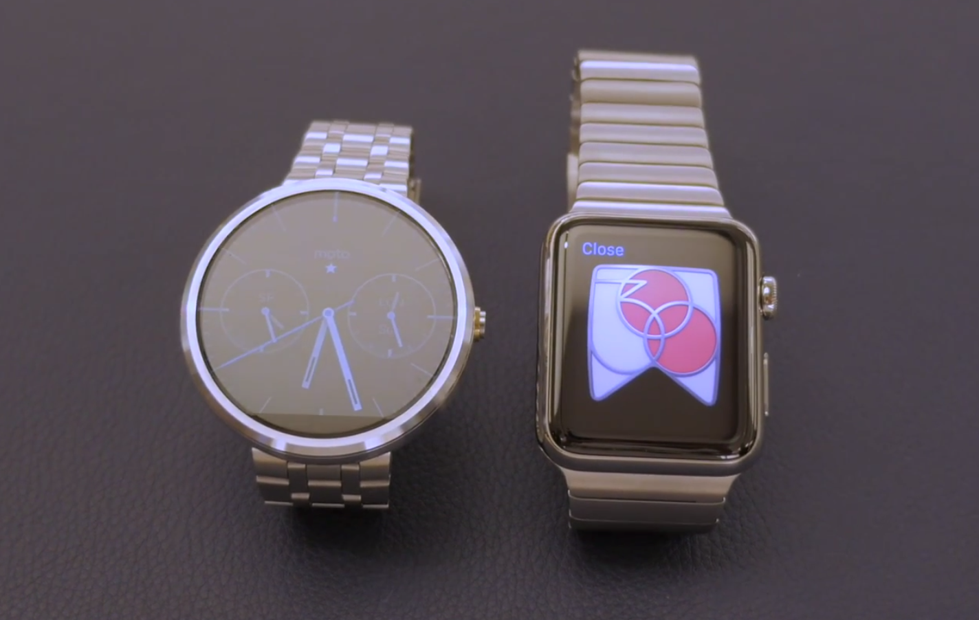 Inconvenient Truths About The Apple Watch Mike Rundle Medium Coach Rubber Authentic Heres A Final Comparison Shot Between And Motorola 360 Looks Absolutely Tiny By