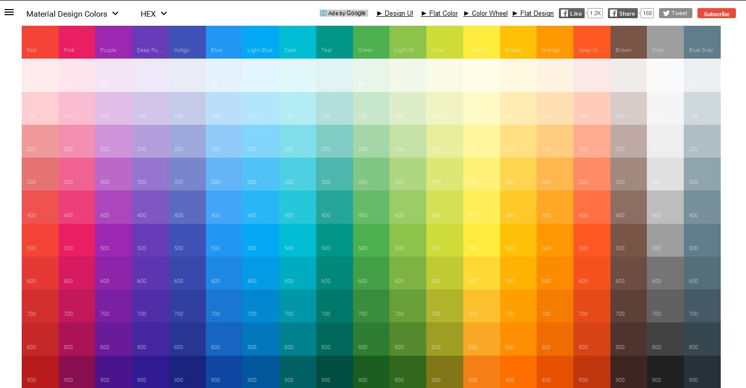 100 accent colors emby themes in different