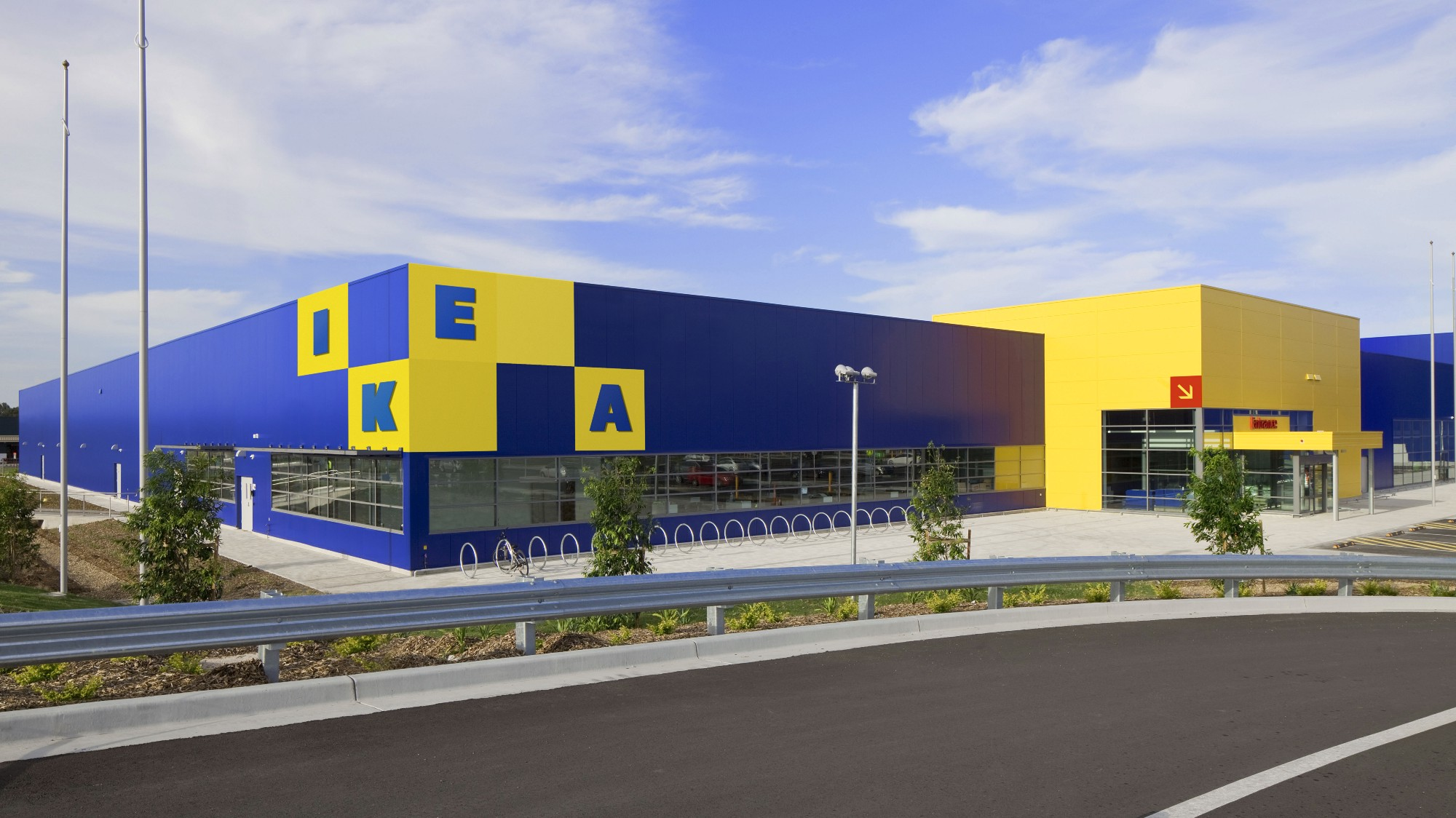When People Think Of Ikea They Inevitably Think Of Flat Pack Boxes And Enormous Blue Rectangular Buildings It Therefore Seemed Obvious To Take The Modular