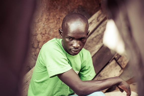Eric, resident of Mathare and founder of the Mathare Foundation Youth Community