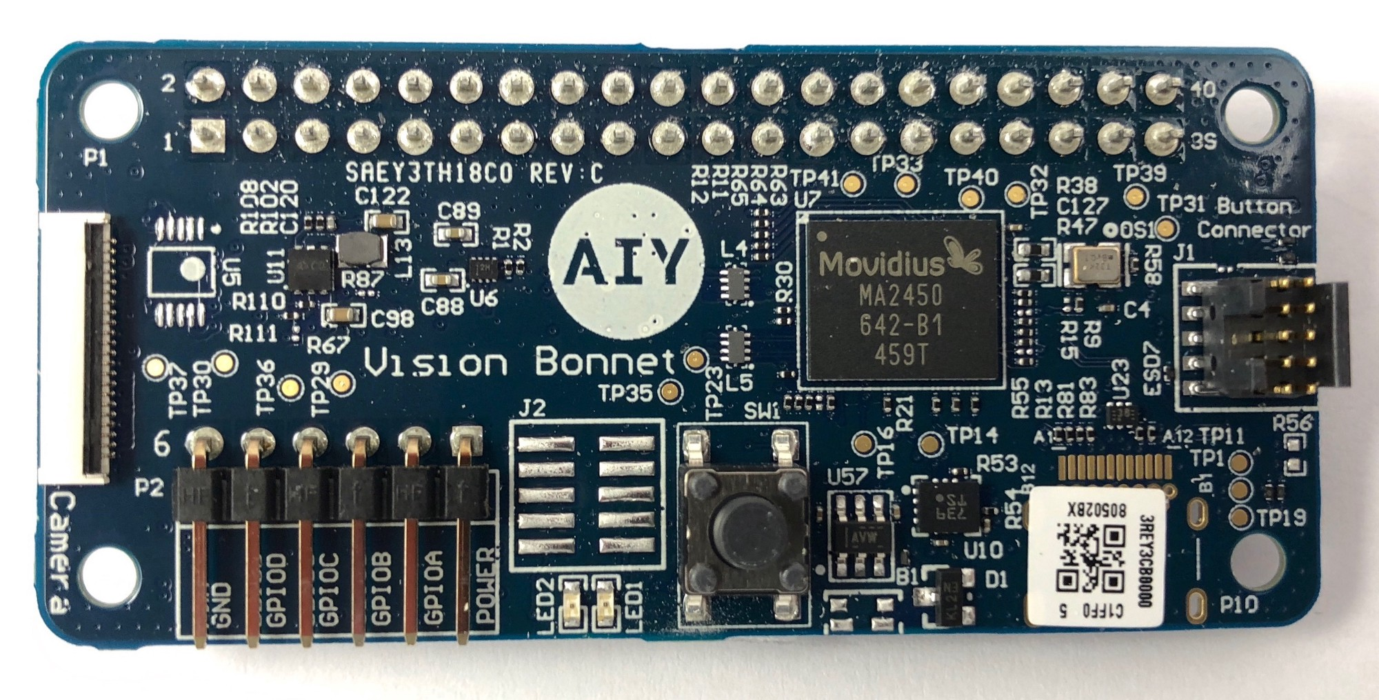 Do It Yourself Artificial Intelligence Alasdair Allan Medium Voice Recognition System And Embedded Controllers The Aiy Projects Vision Bonnet With Intel Movidius Chip