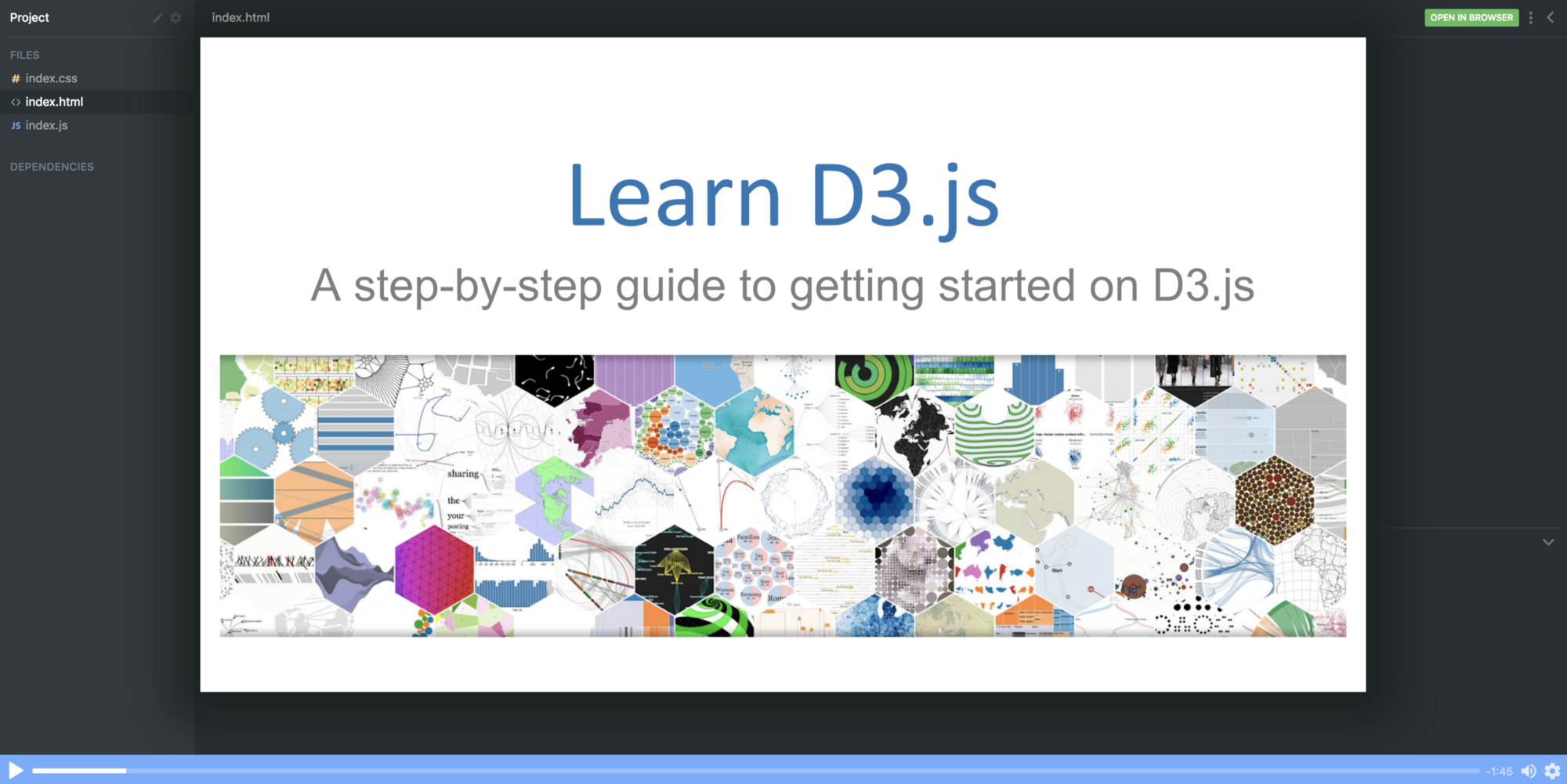 Learn To Visualize Data With This Free D3js Course