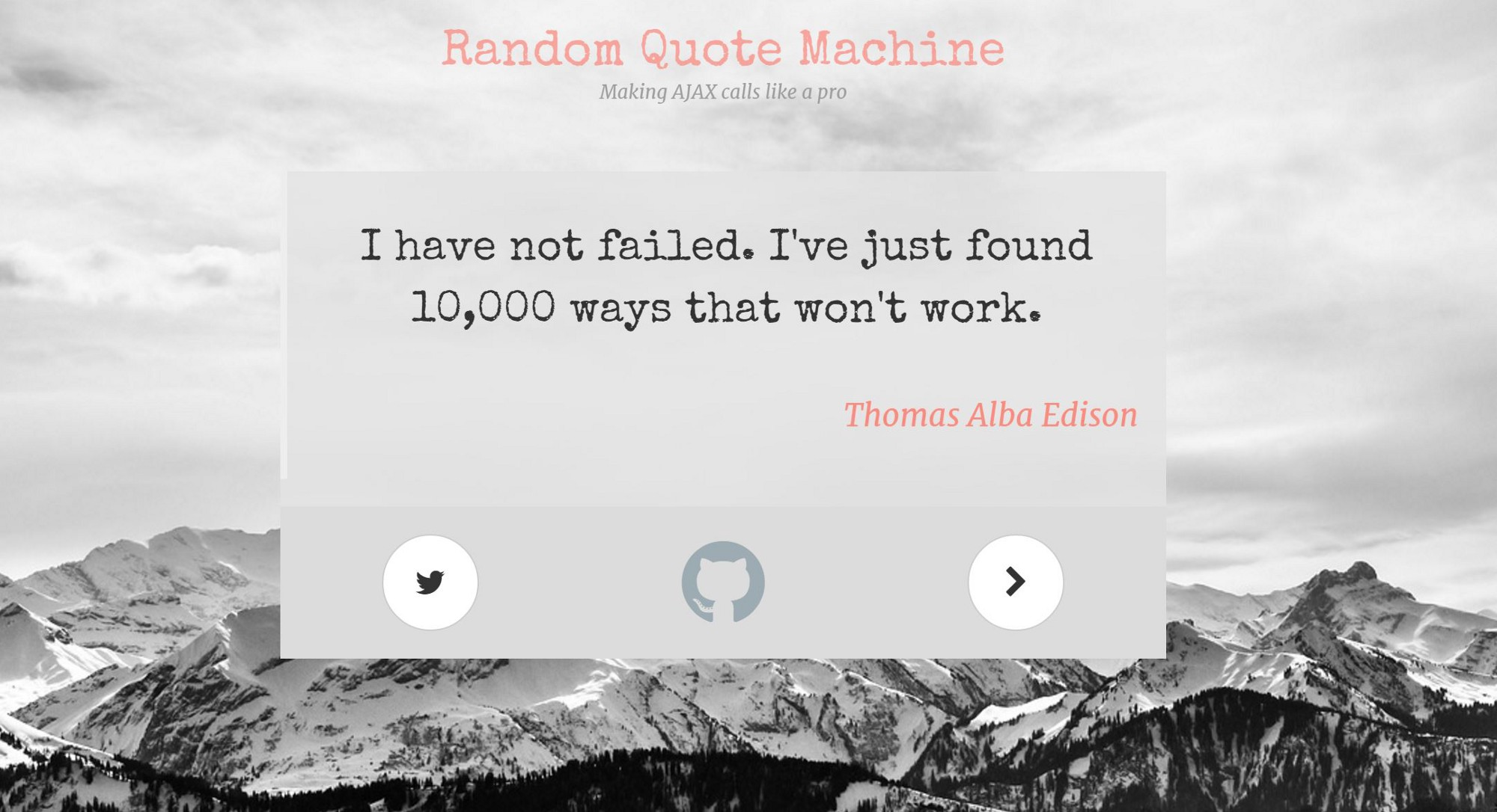 "Random Quote Generator How I Made ""Random Quote Machine""  Gordana Minovska  Medium"