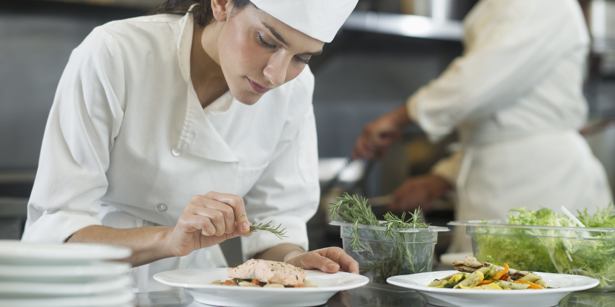 is it fair to ask a chef to work 14 hour days track and food medium