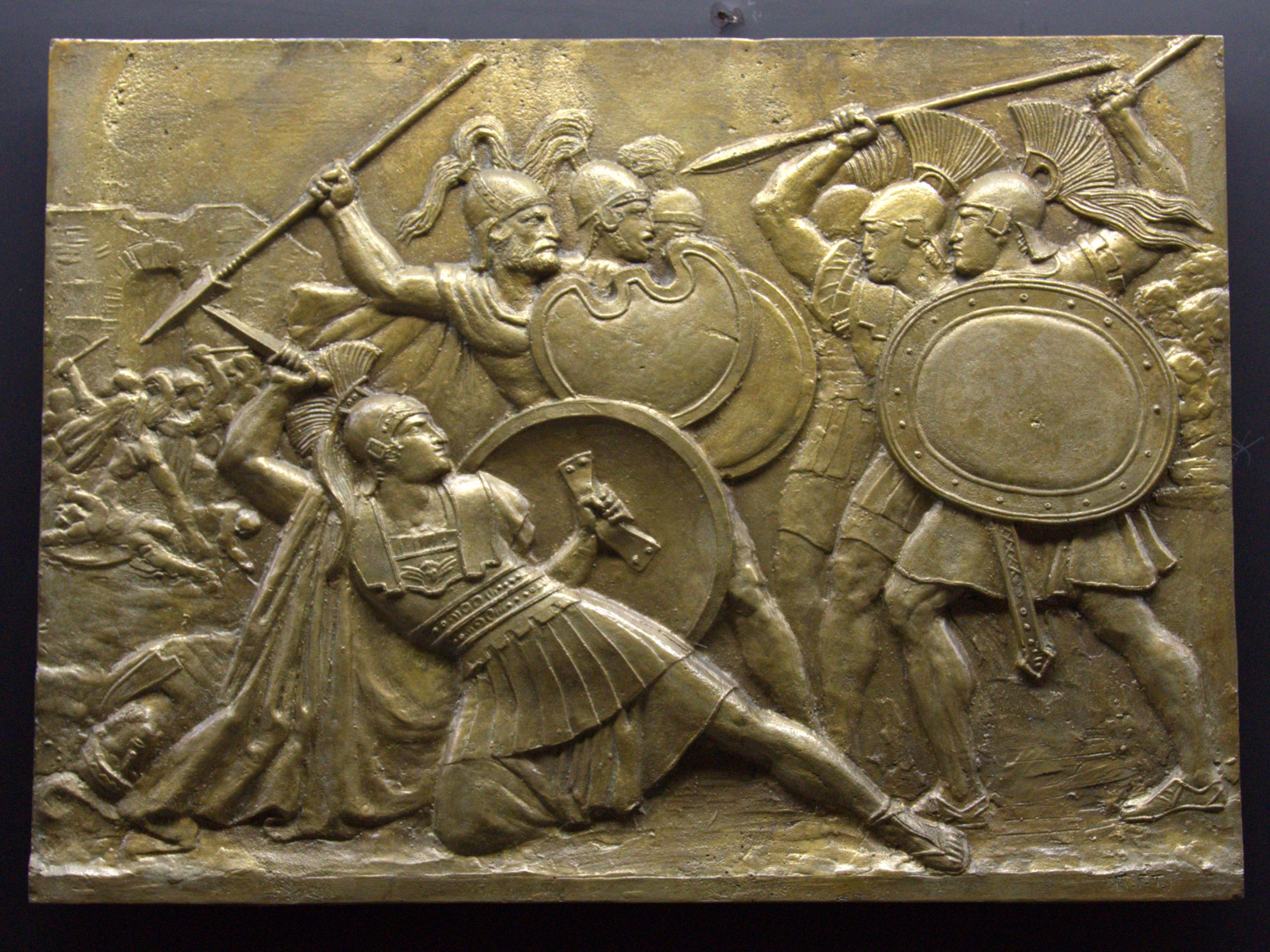 Alexander the greats propaganda war politics and strategy relief inspired by the everyday life of alexander the great flickrtelemax license kristyandbryce Choice Image