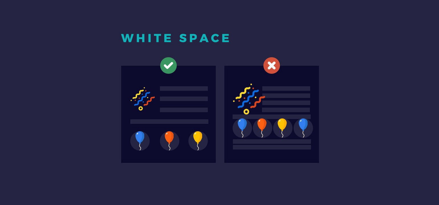 Importance of White Space in Design