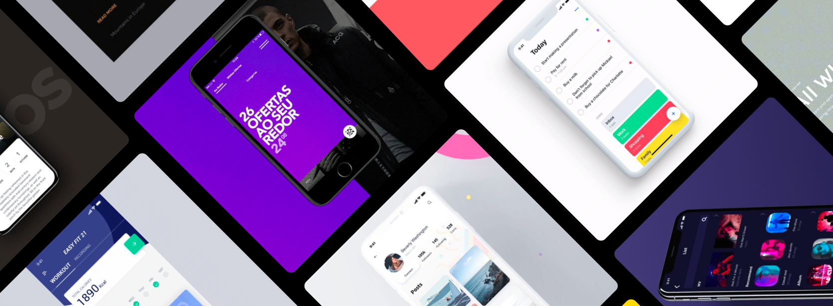 Split screen, Hover effect, Error form and more… Weekly interactions roundup!