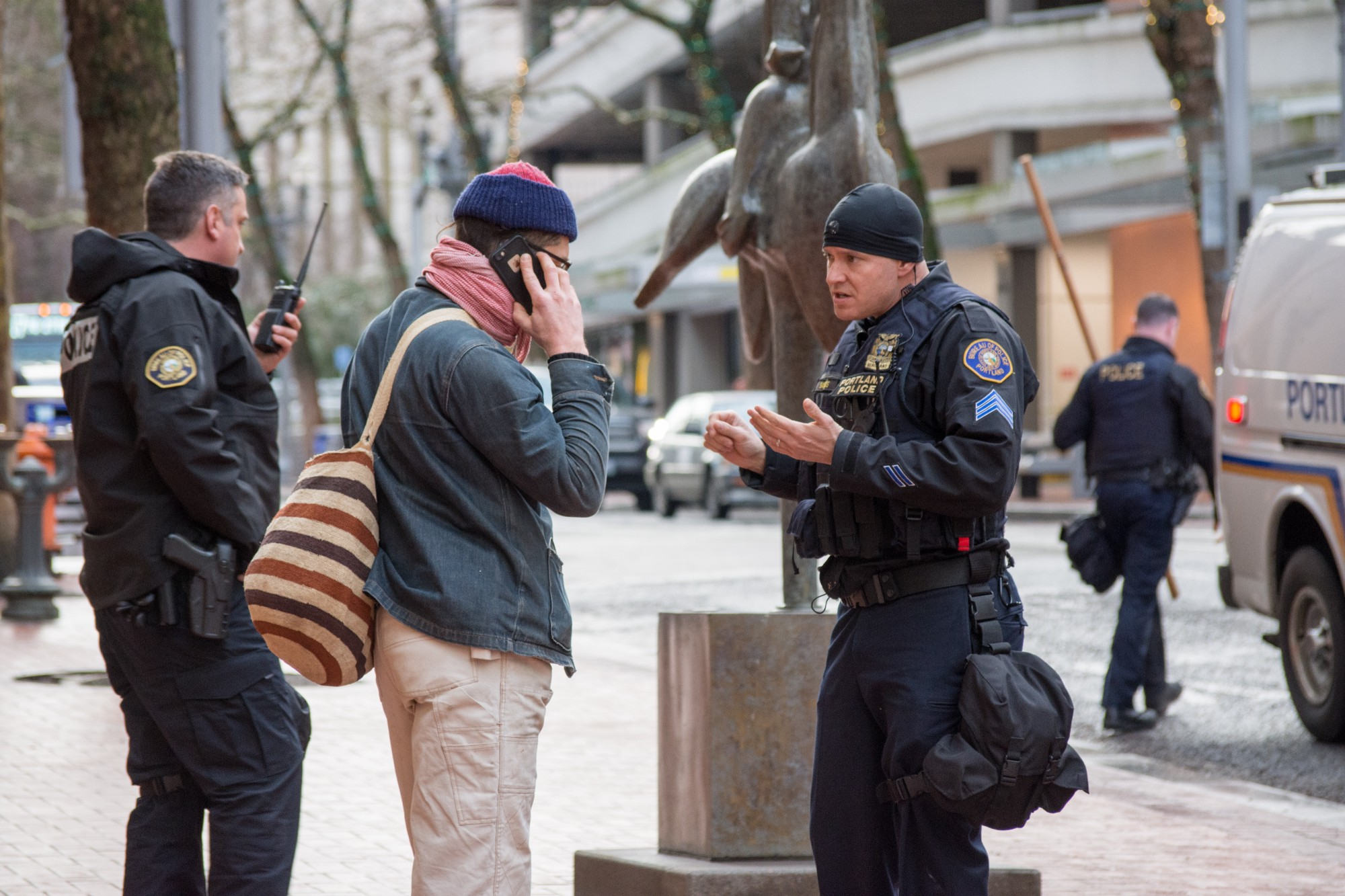 An Open Letter To Mayor Ted Wheeler About #J20PDX Police