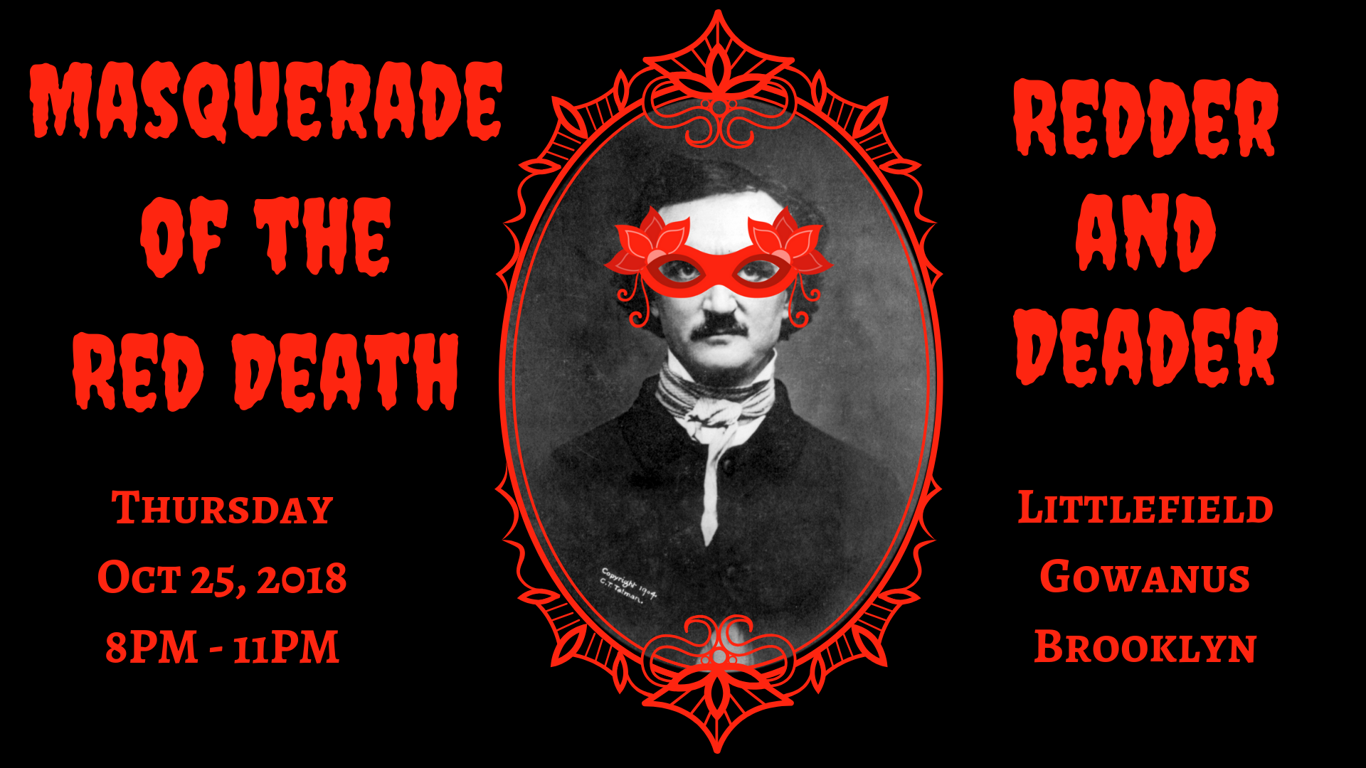 Be Our Guest For Masquerade Of The Red Death Redder And Deader If