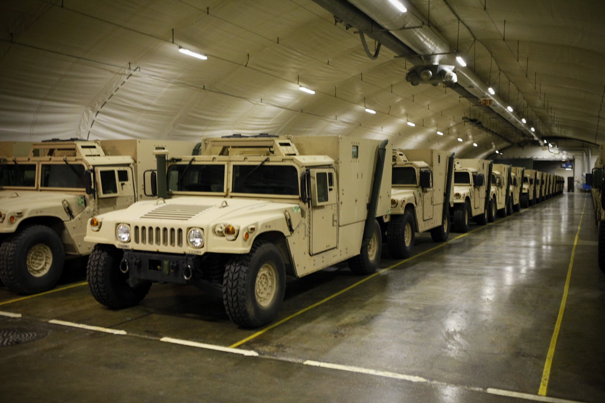 The Pentagon Is Stuffing Caves In Norway Full Of Tanks