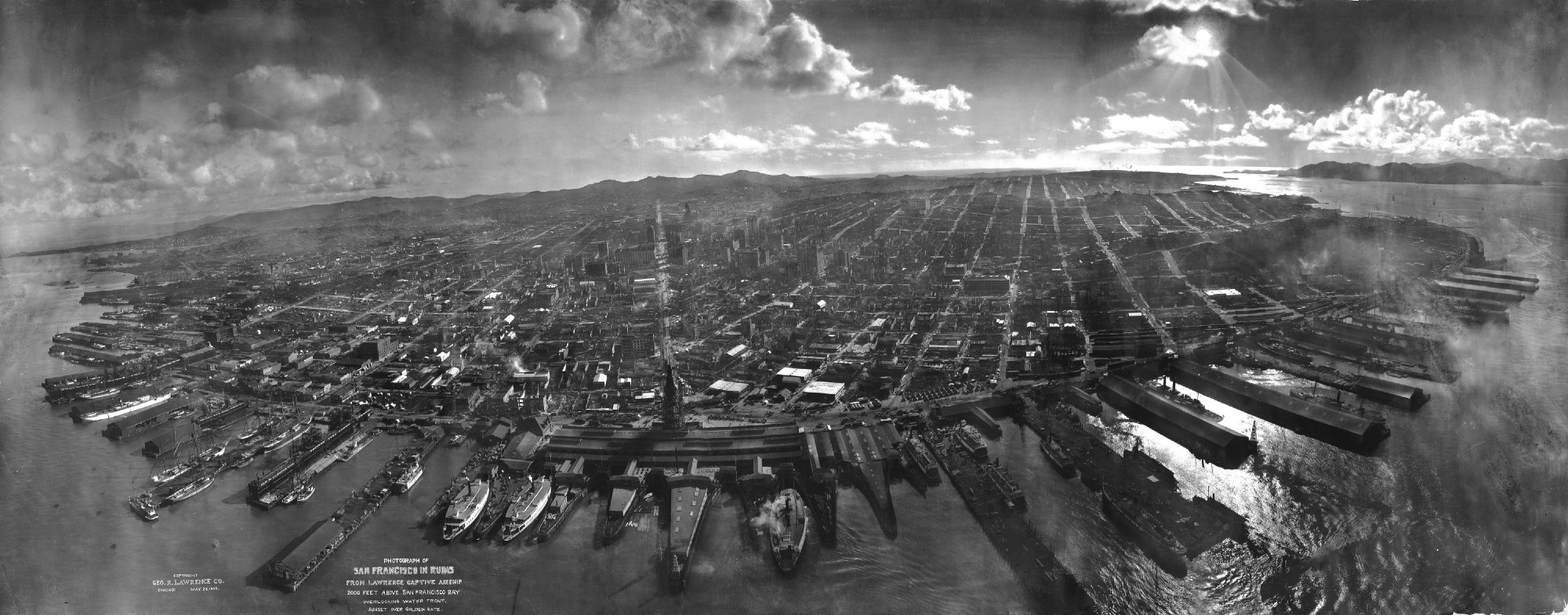These Early Drone Photographs Were Made With An Amazing Airborne Rig