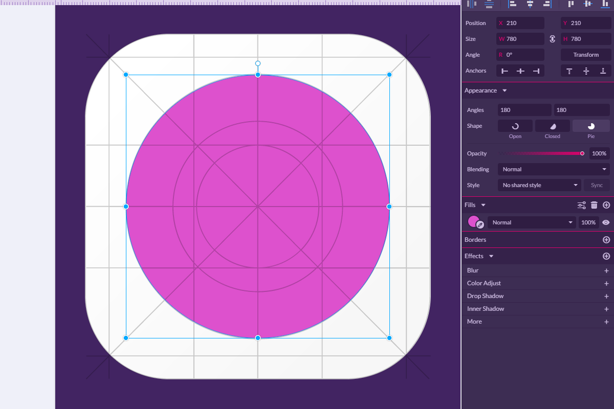 how to create a gradient in gravit