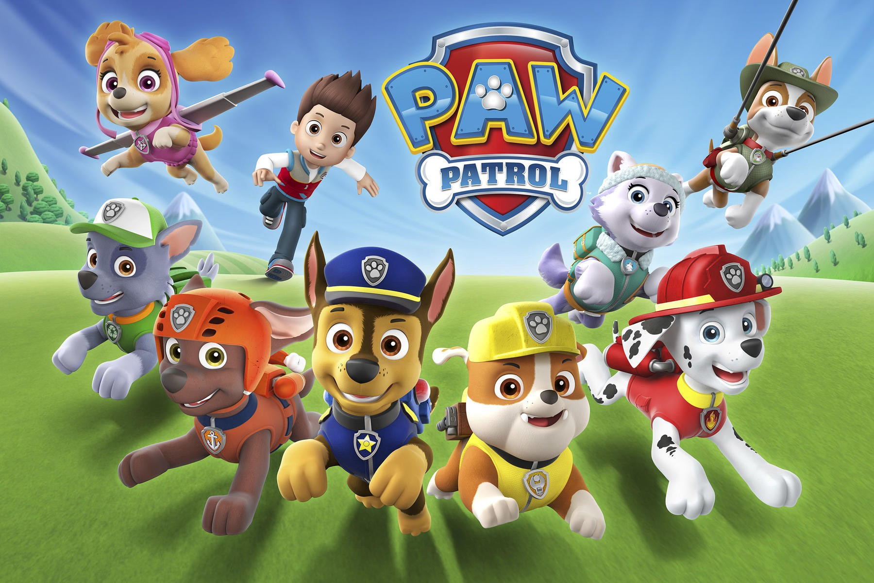 What Is Paw Patrol Dog Called