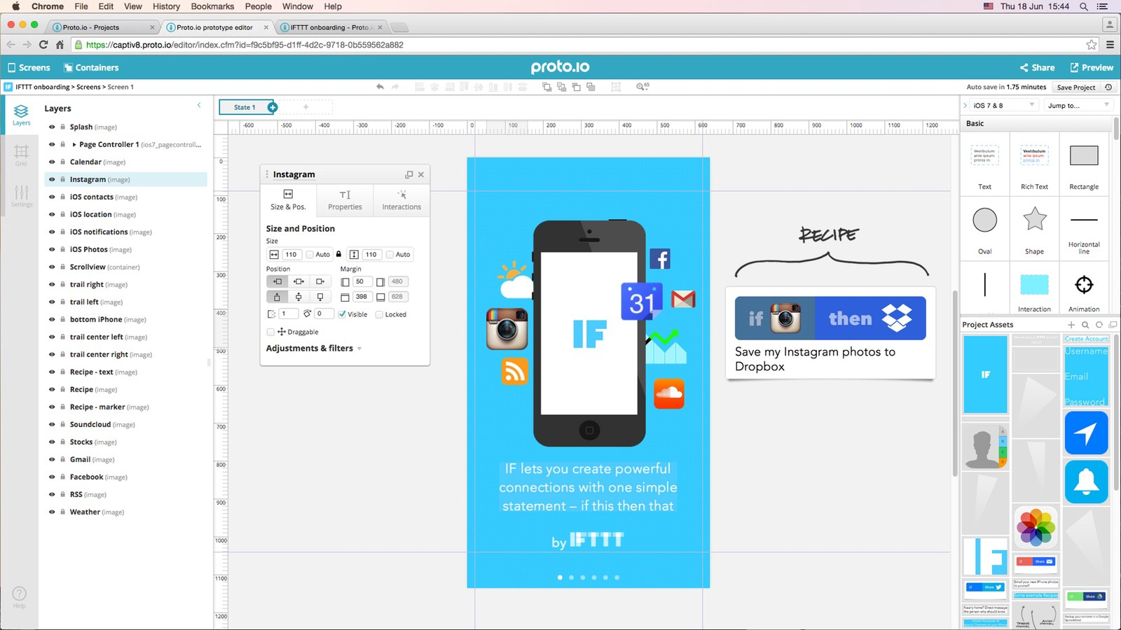 protoio is a surprisingly powerful web app it has many many functions but because everything works by drag and drop clicking buttons and selecting - Android Ui Maker
