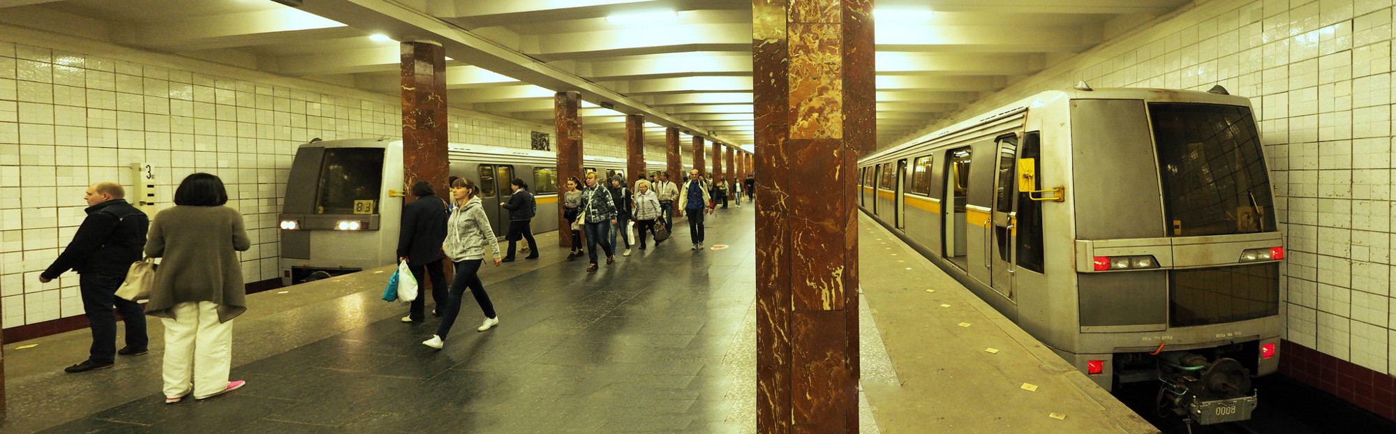 Moscow Metro, 83, Parade of trains 56