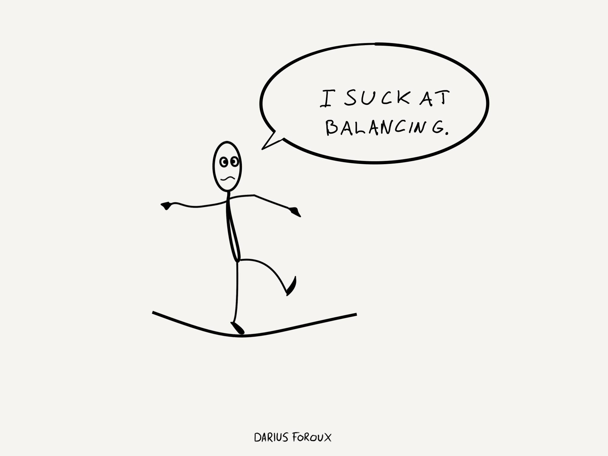 Why I Don't Believe In Work-Life Balance