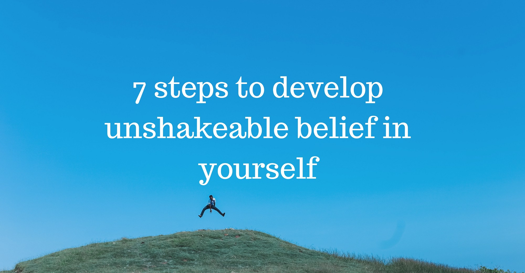 Belief Can Be A Powerful Tool… If You Know How To Use It Properly