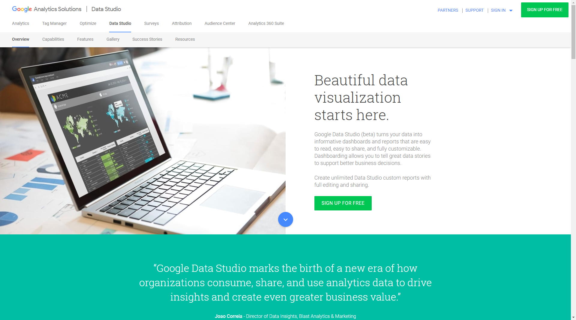 63 best digital marketing tools you should know about in 2018 google data studio beta turns your data into informative dashboards and reports that are easy to read easy to share and fully customizable fandeluxe Choice Image
