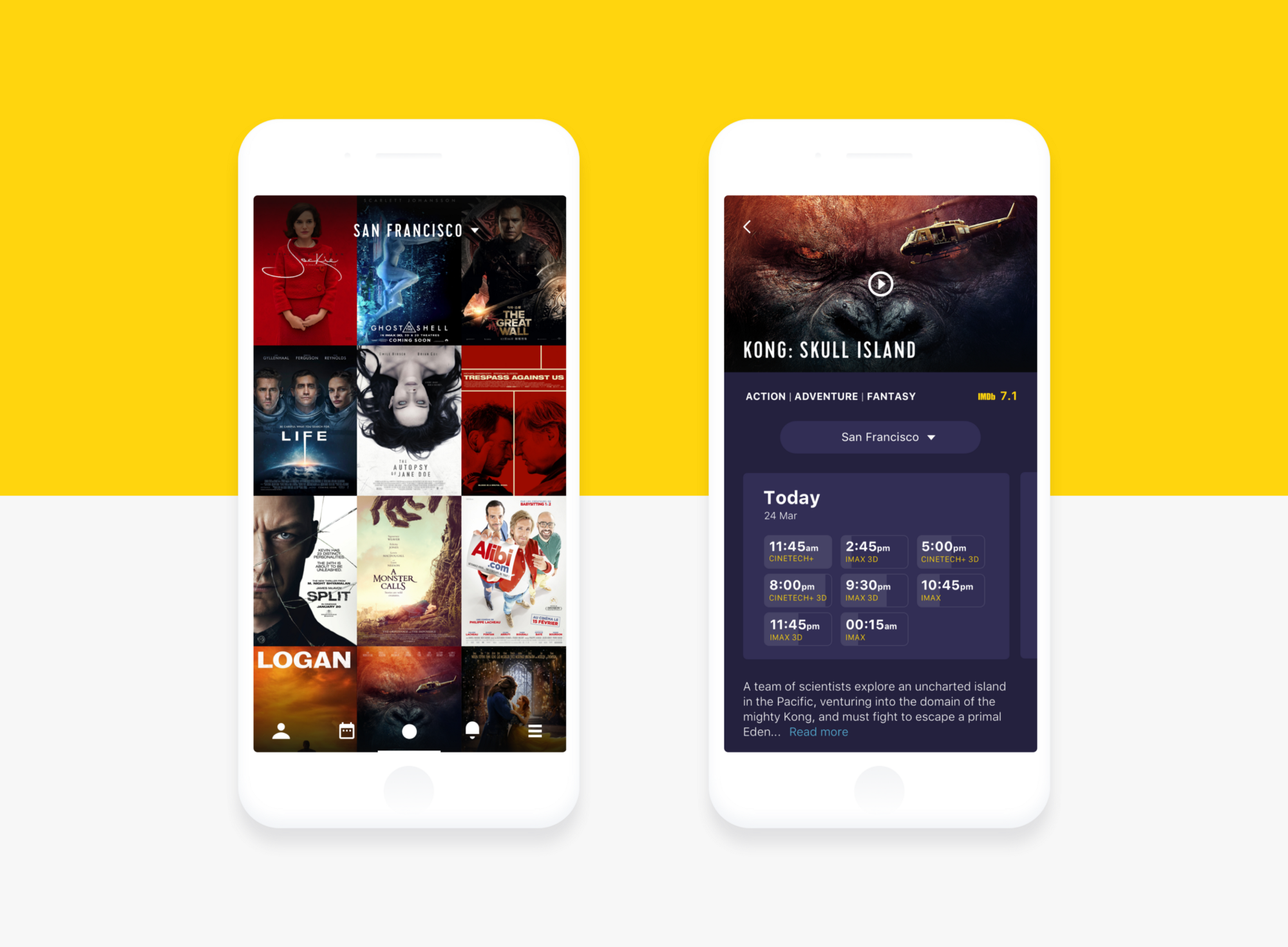 Mobile ui design basic types of screens ux planet for Mobel design