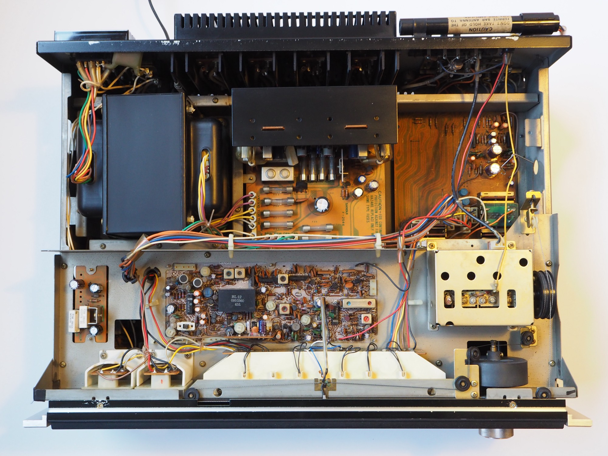 How A Digital Guy Fell In Love With Vintage Stereo Receiver To Replace Aluminum Wiring House Recap