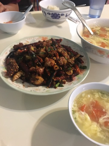Rabbit Meat Hunan food