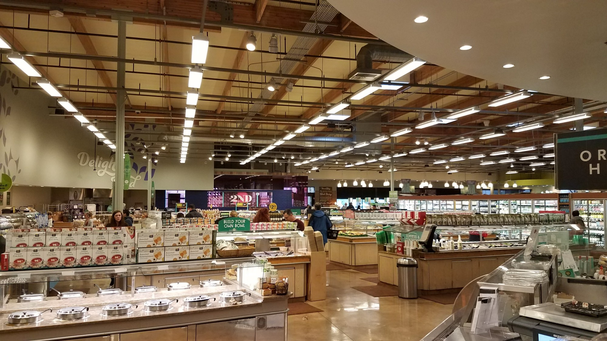5 reasons why the whole foods in manhattan beach is the for Food bar 2000