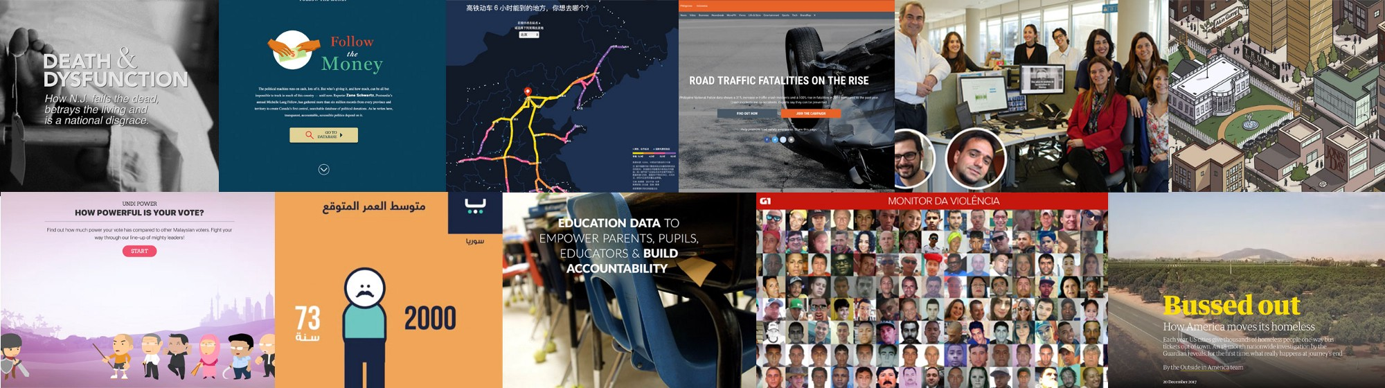 Data driven journalism awards and prizes