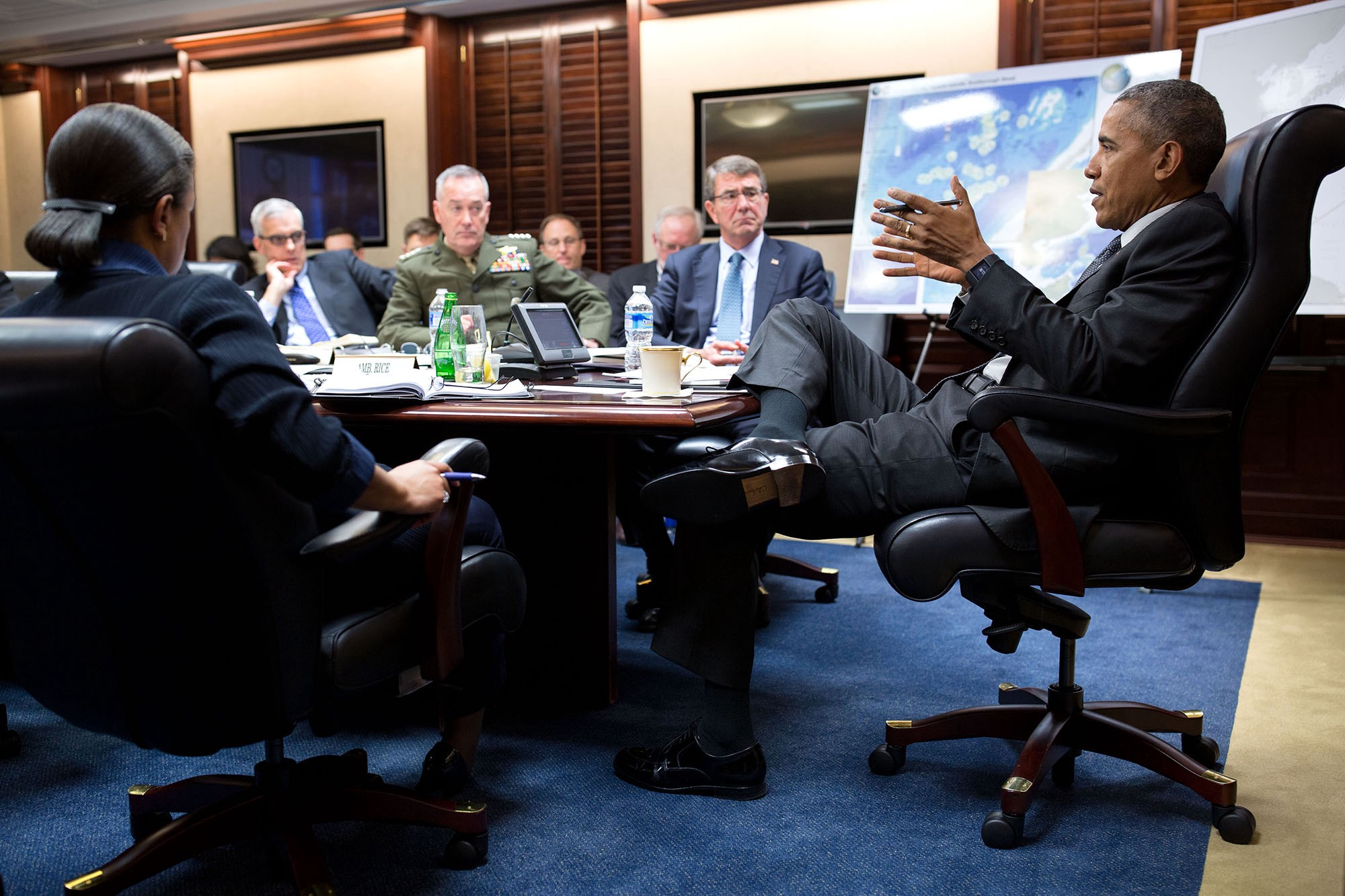 behind the lens year in photographs the obama white house i spend a lot of time every year in the situation room which is not my favorite room to work in because it s so difficult to move around