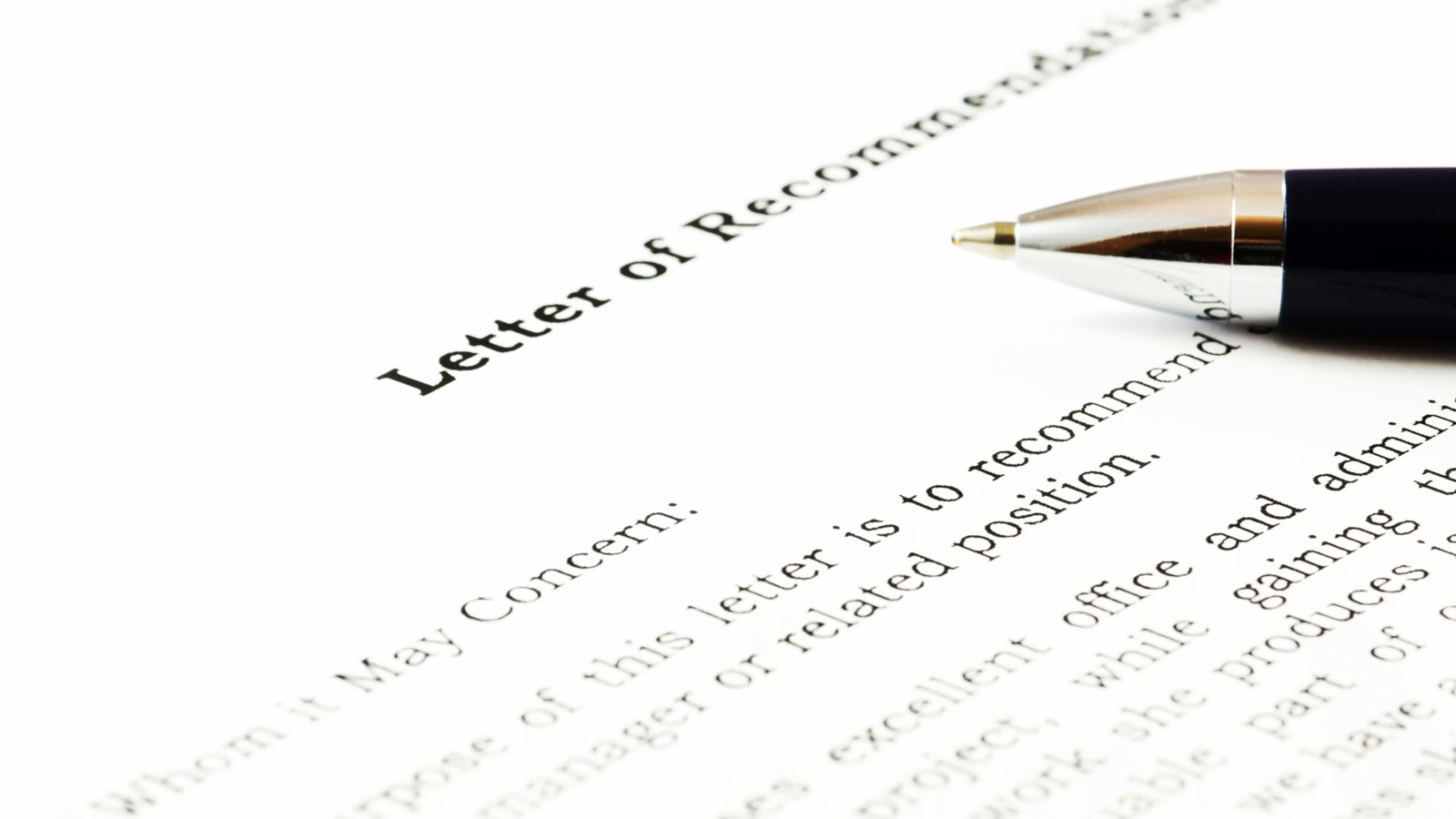 How To Request A Letter Of Recommendation  Kudoswall