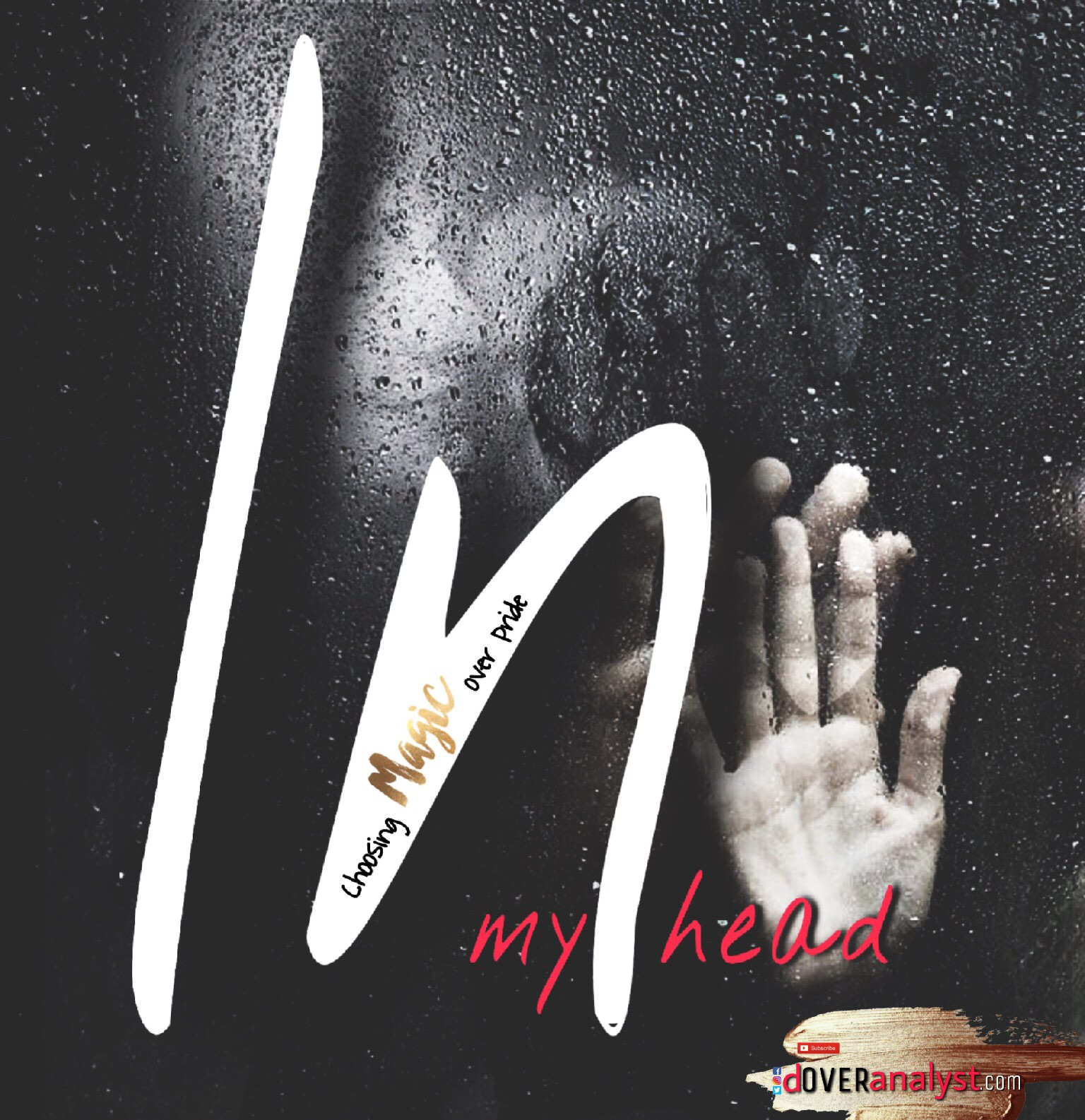 in my head poster two hands on wet surface