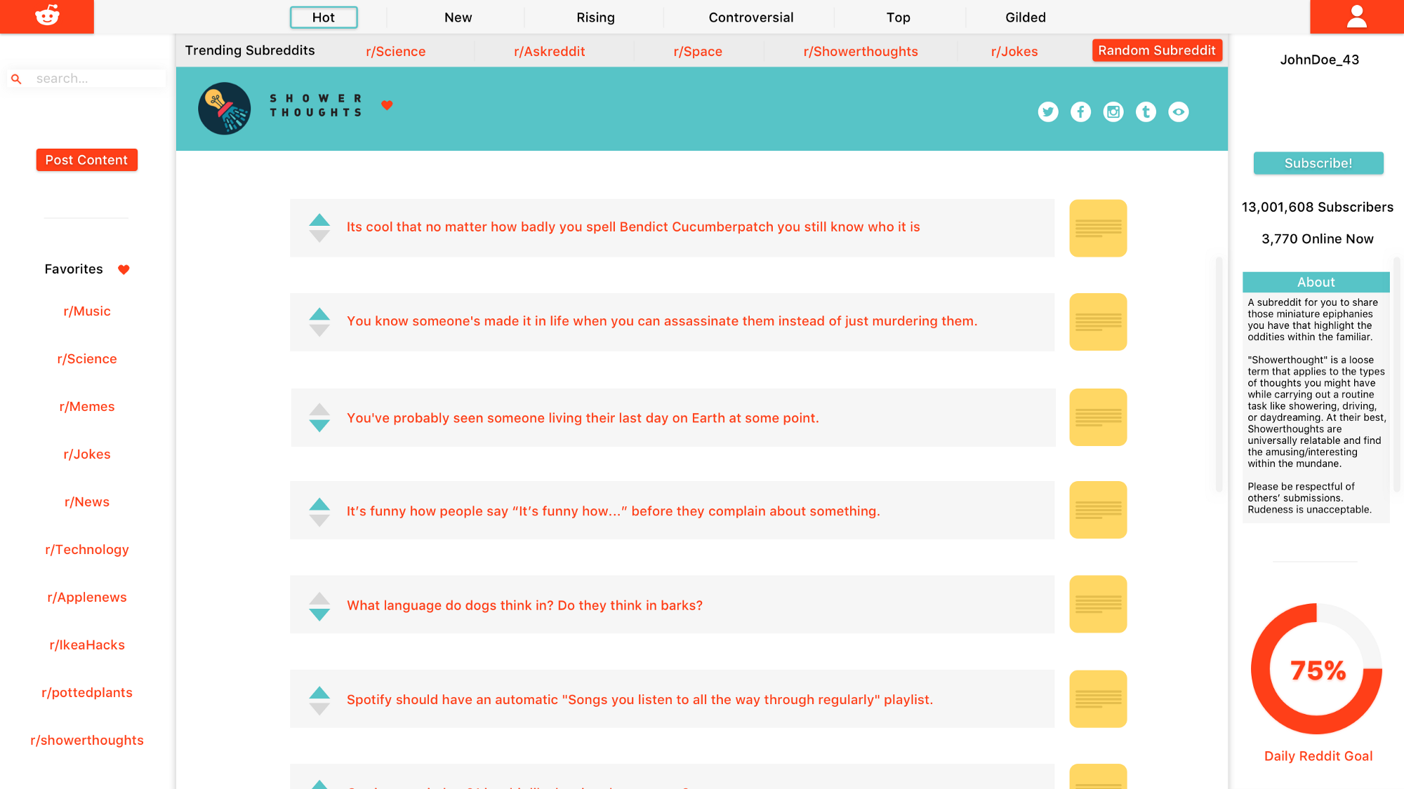redesigning the onboarding process for reddit – prototypr