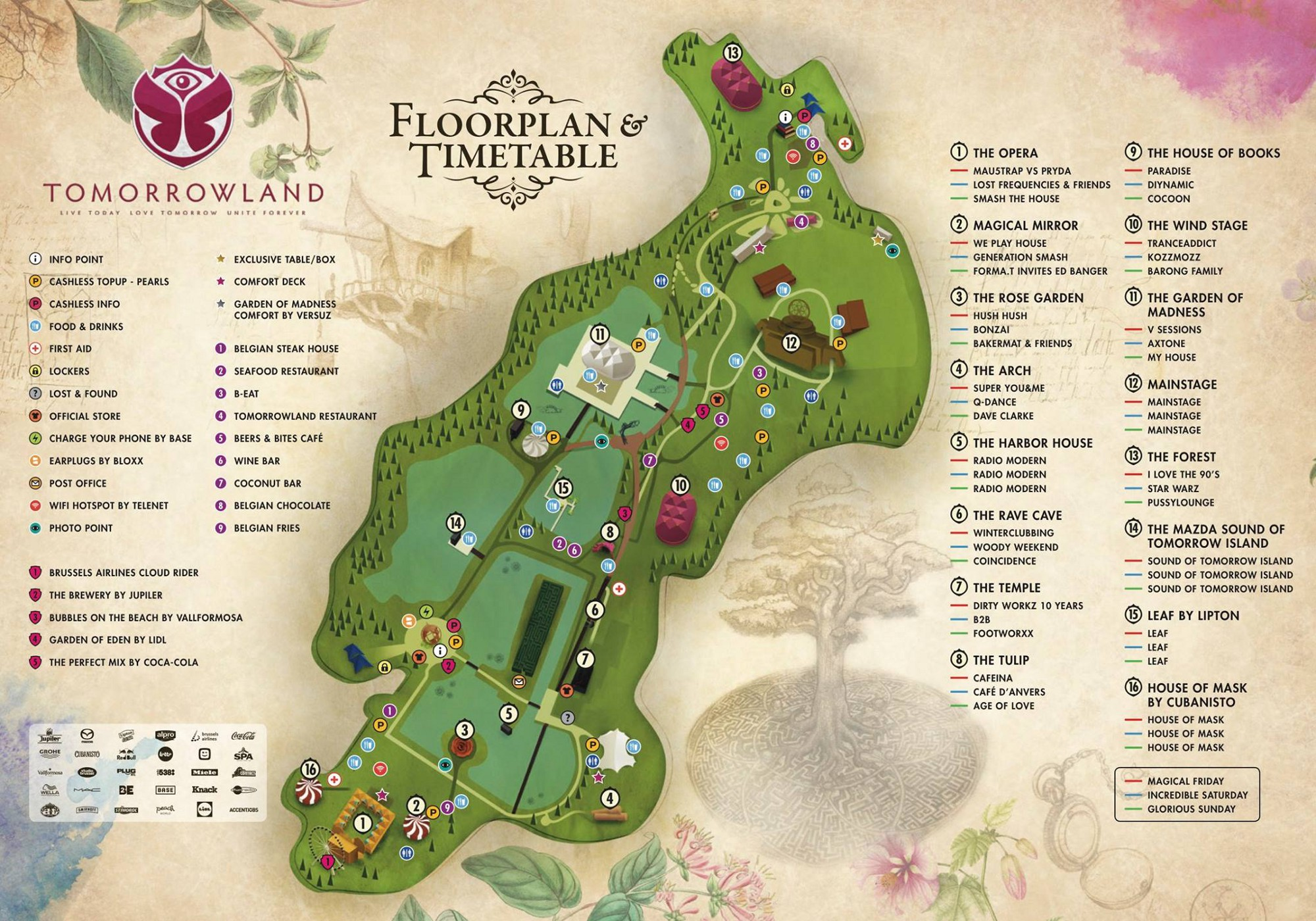 Tomorrowland 2016 The Festival A First Timers Guide