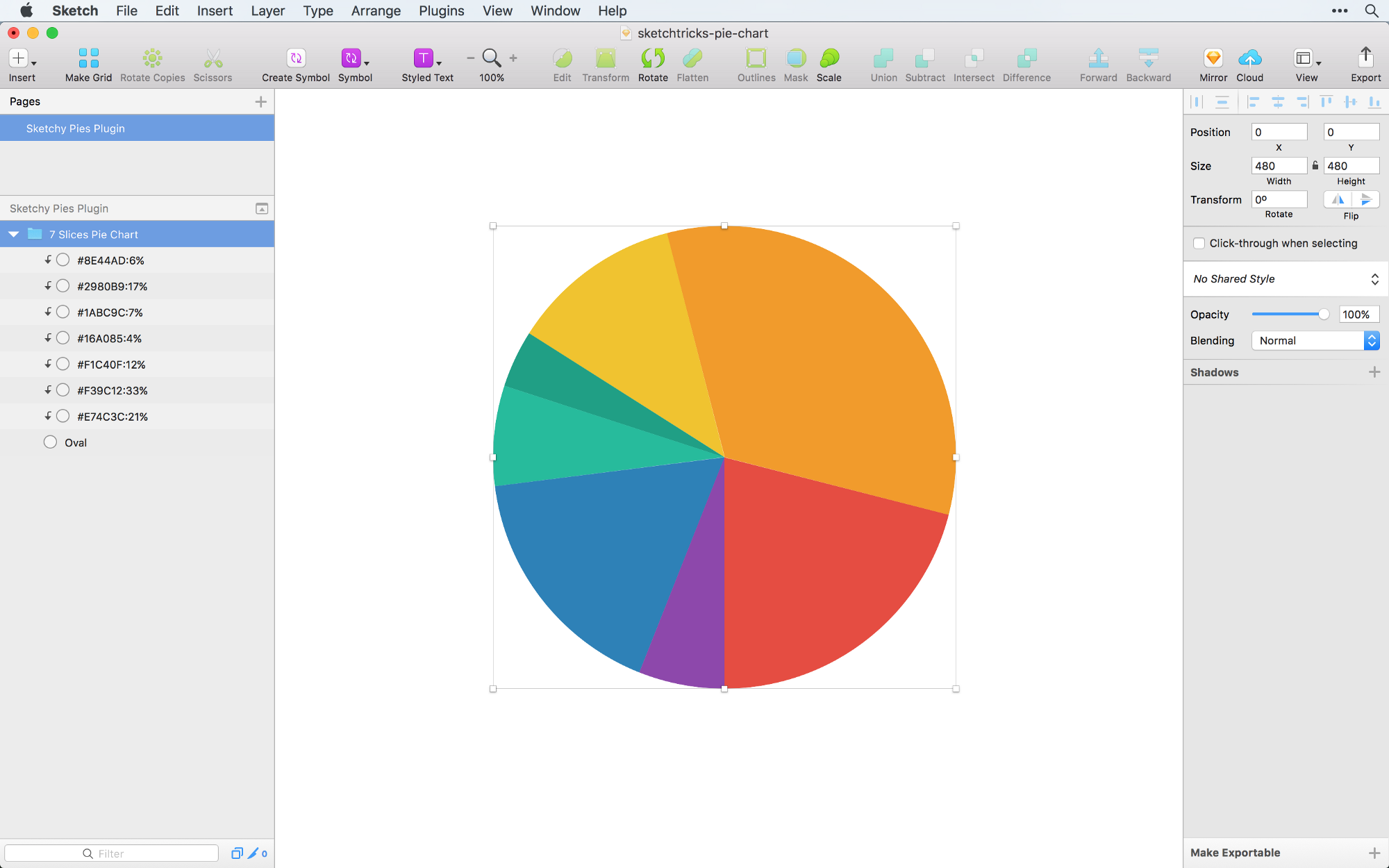 How to draw a pie graph erd connectors creating a pie chart in sketch the right way sketch tricks medium 1w rc3xn88s4e2icp7brf5w ccuart Image collections