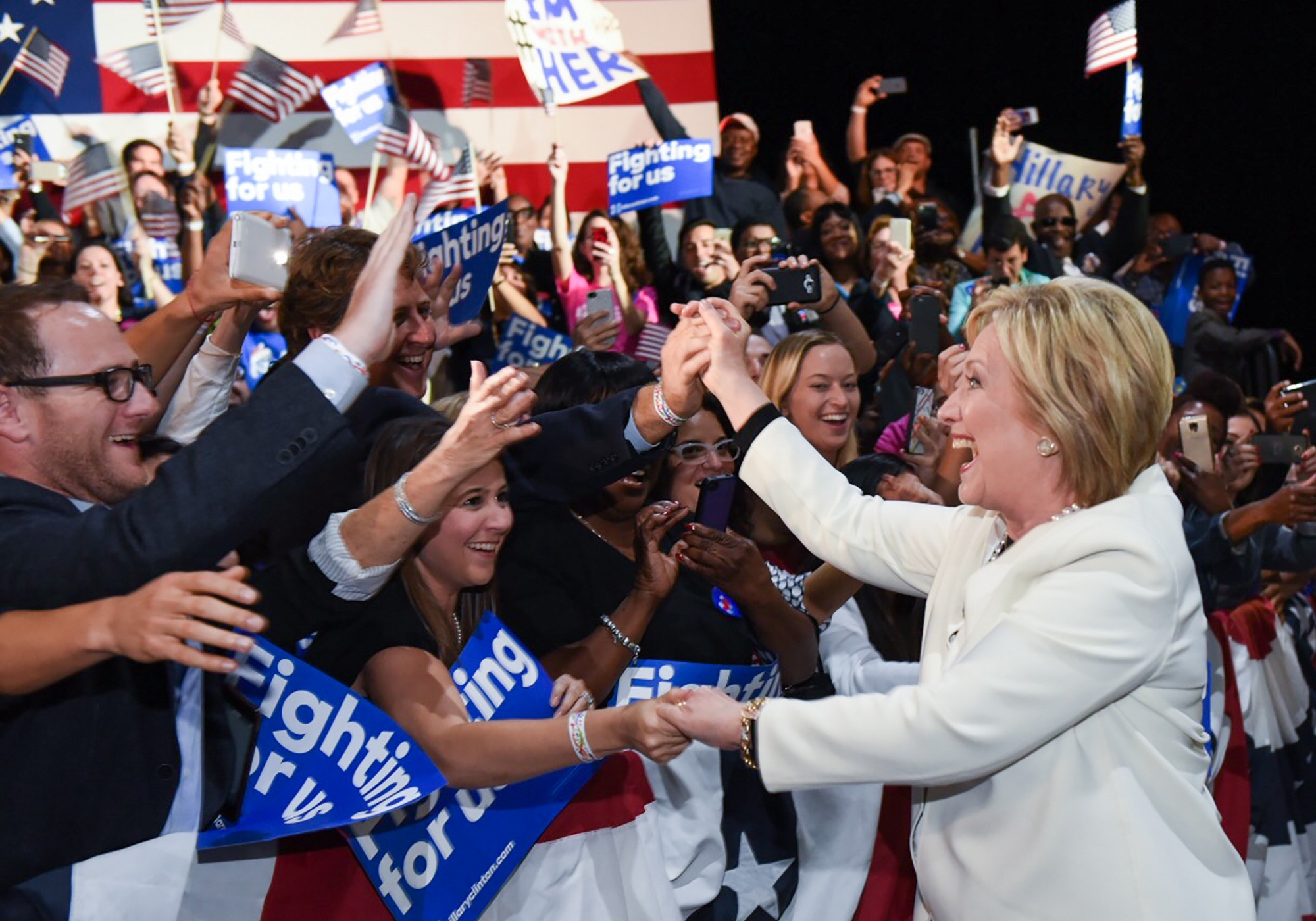 A behind-the-scenes look at March on the campaign trail with ...