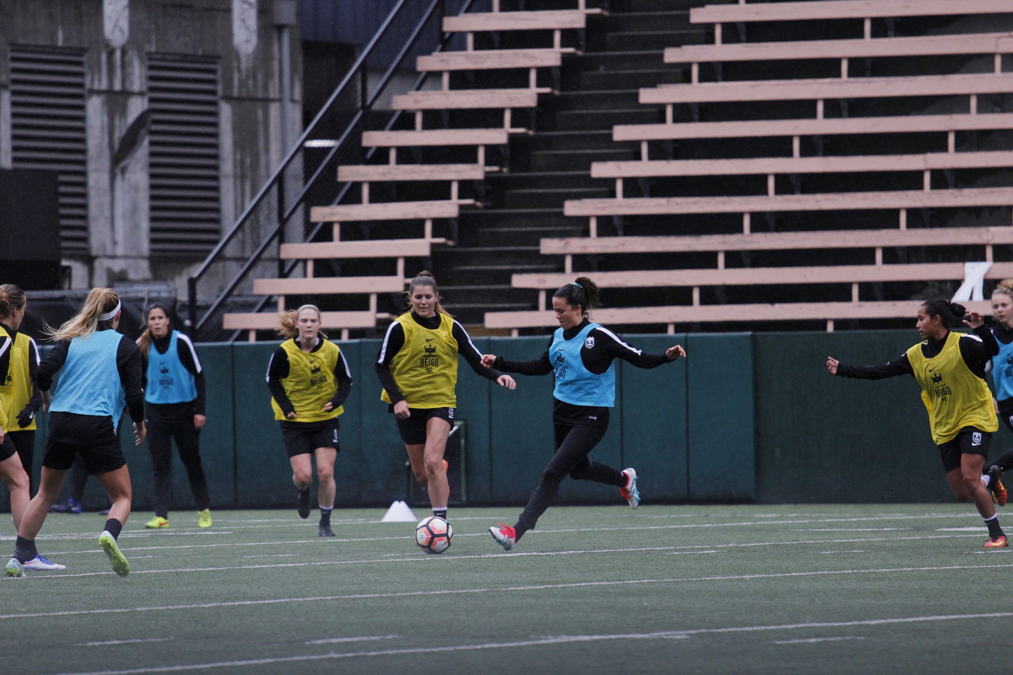 team player essay celebrating palestinian nationhood through sport  photo essay preseason training camp seattle reign fc fc staff oversaw the 28 players present through