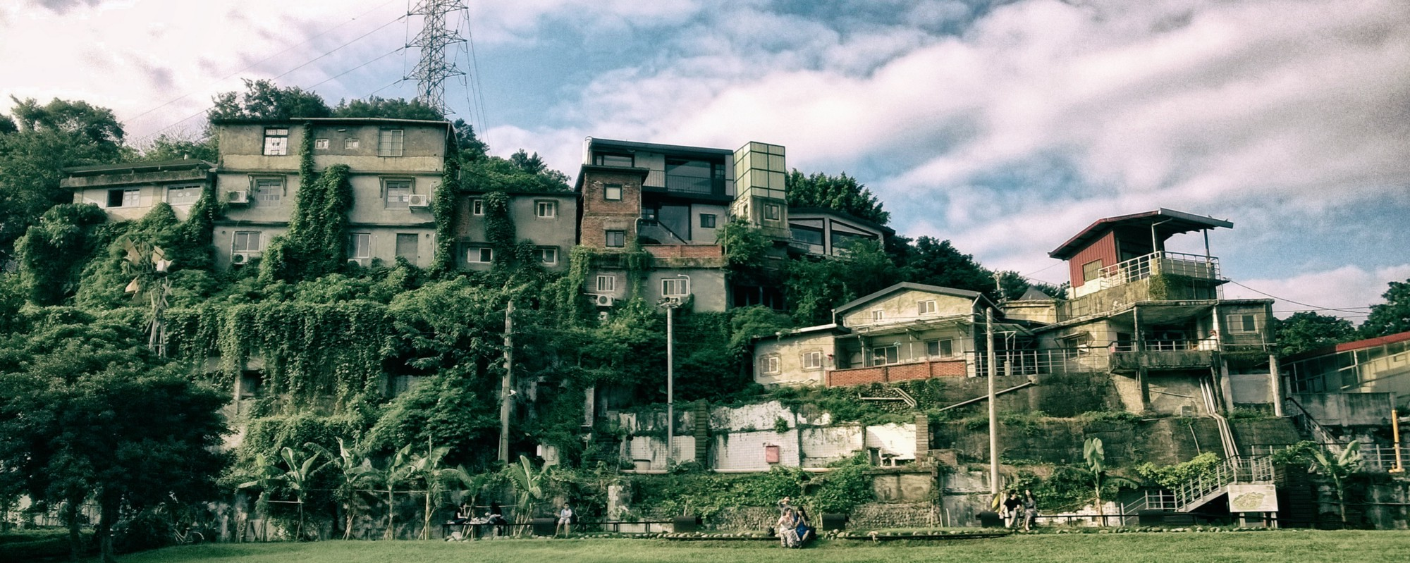 The City of the Future Looks Like a Former Military Bunker in Taipei