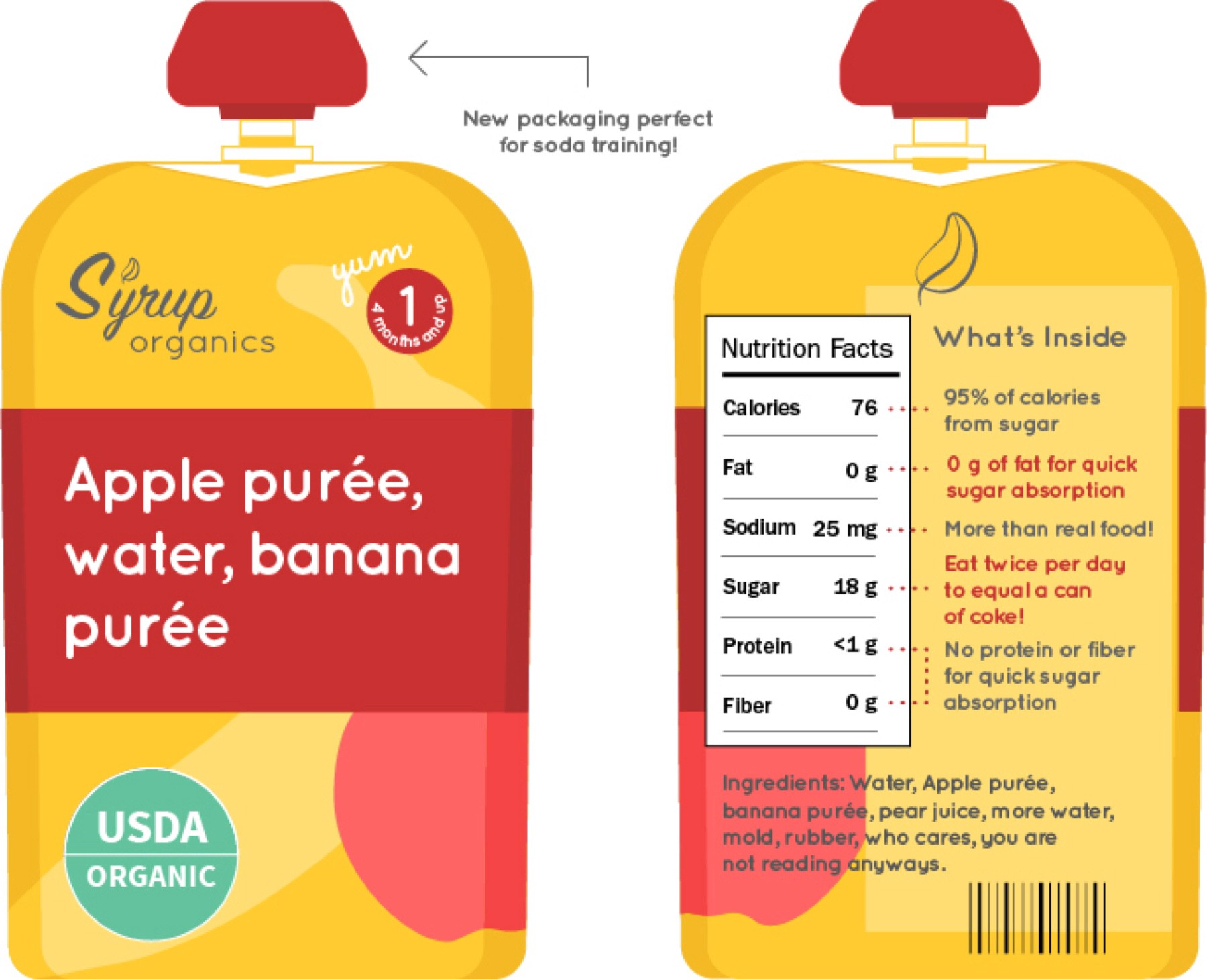 baby food labels are lying to you michelle davenport medium
