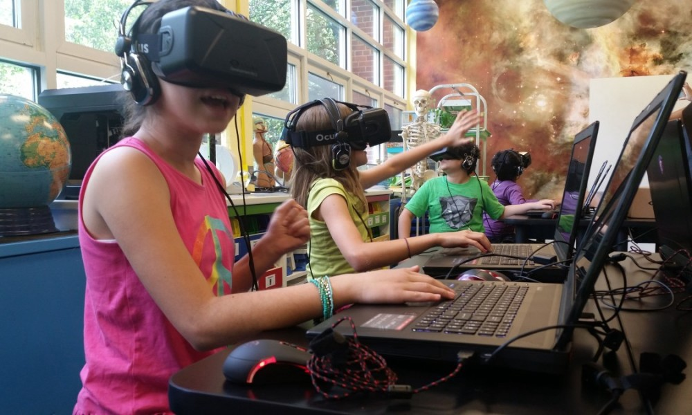 augmented and virtual reality in education
