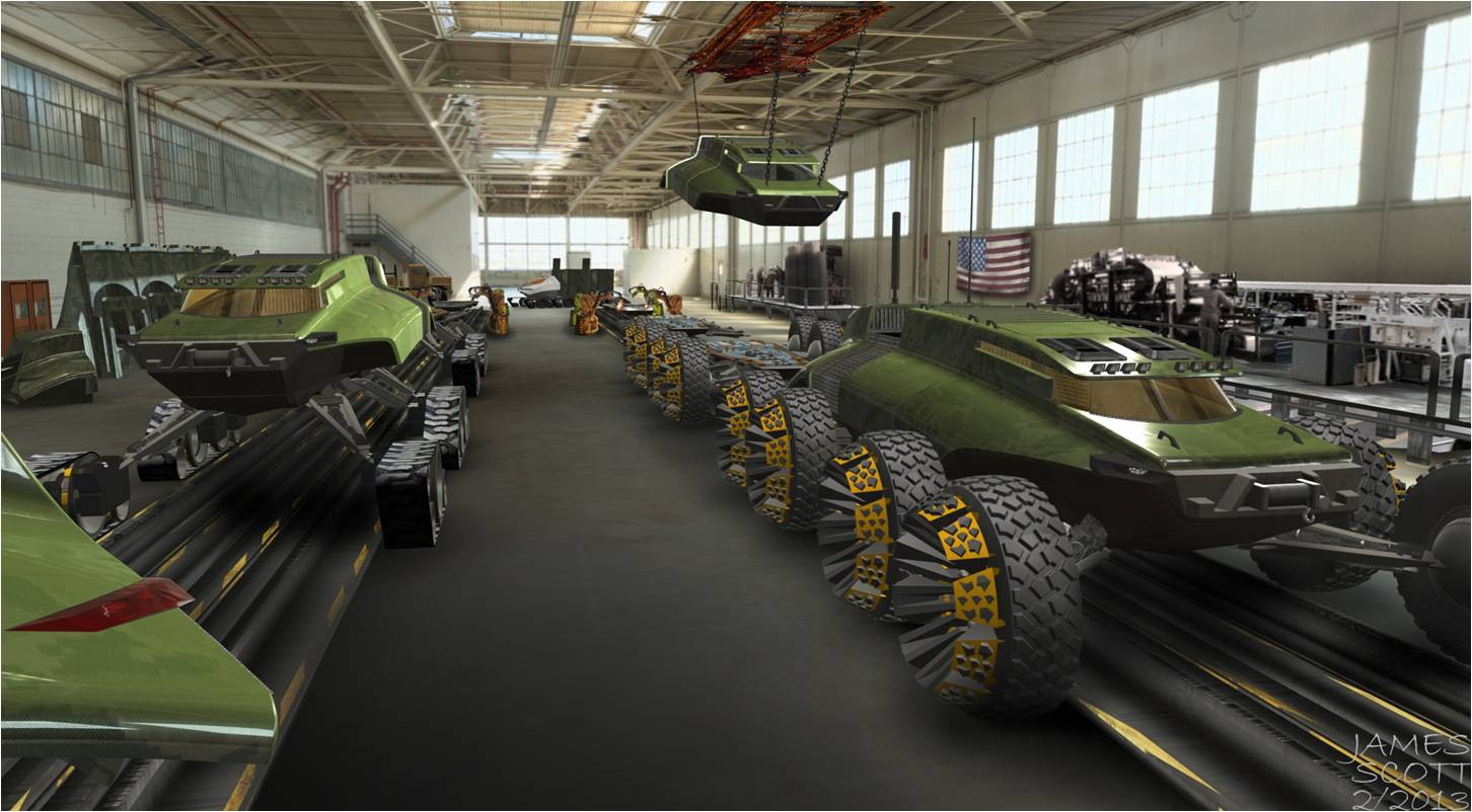 Army, commercial fleet partnership comes to Detroit Arsenal |
