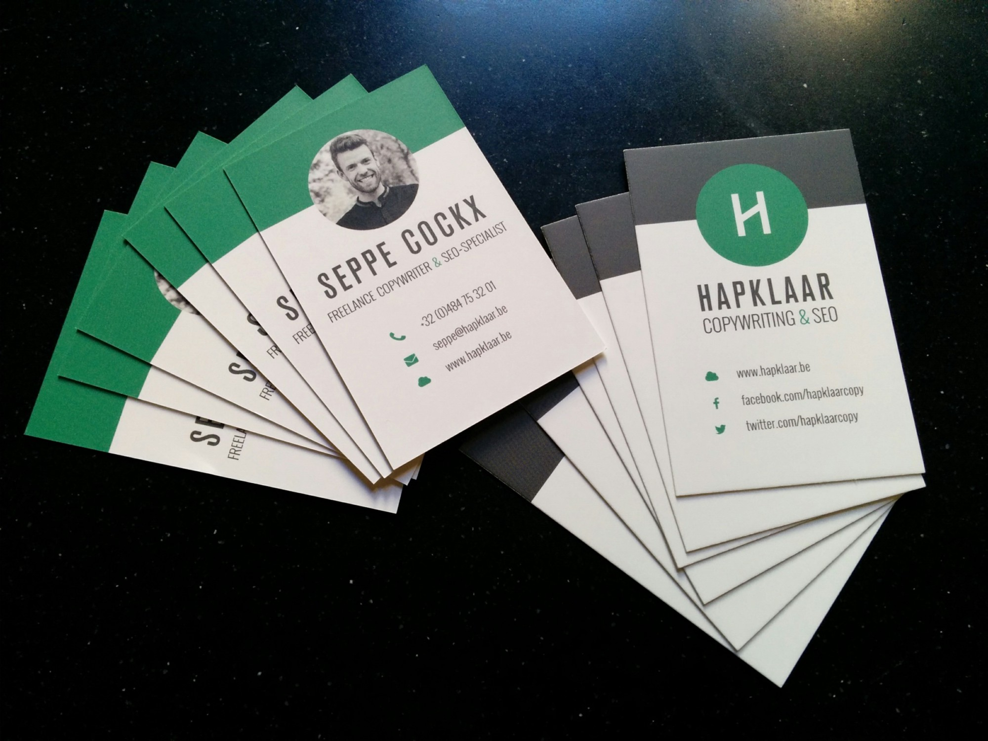How to turn your business card into a business-generating card