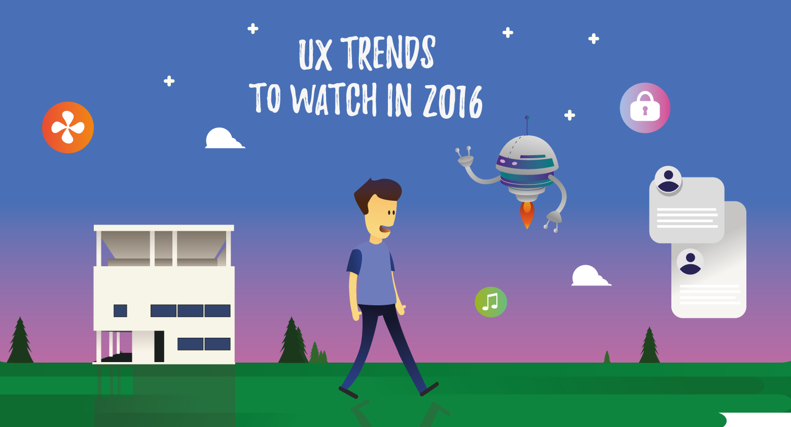 Five UX Trends to Watch in 2016