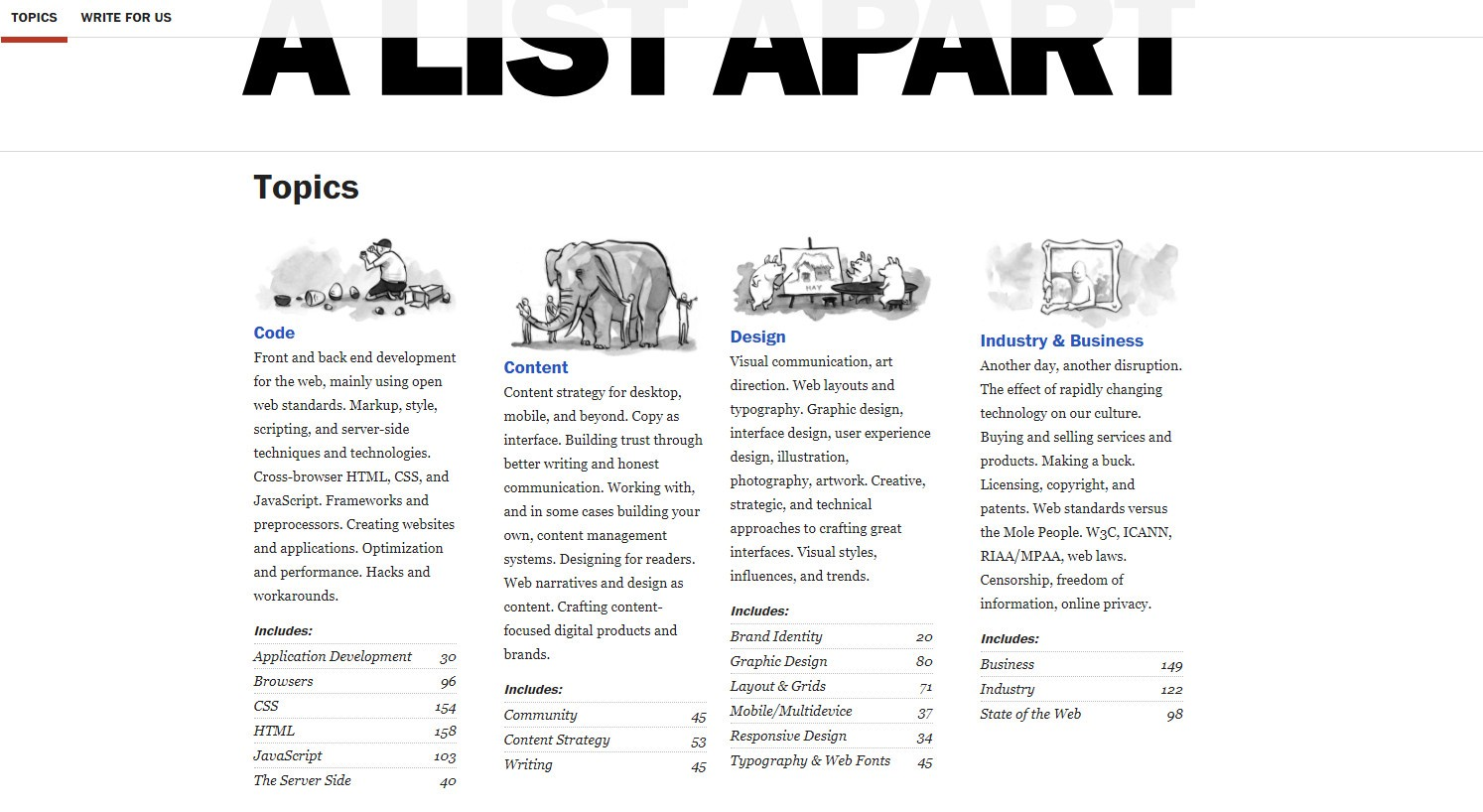 A List Apart Explores The Design Development And Meaning Of Web Content With Special Focus On Standards Best Practices
