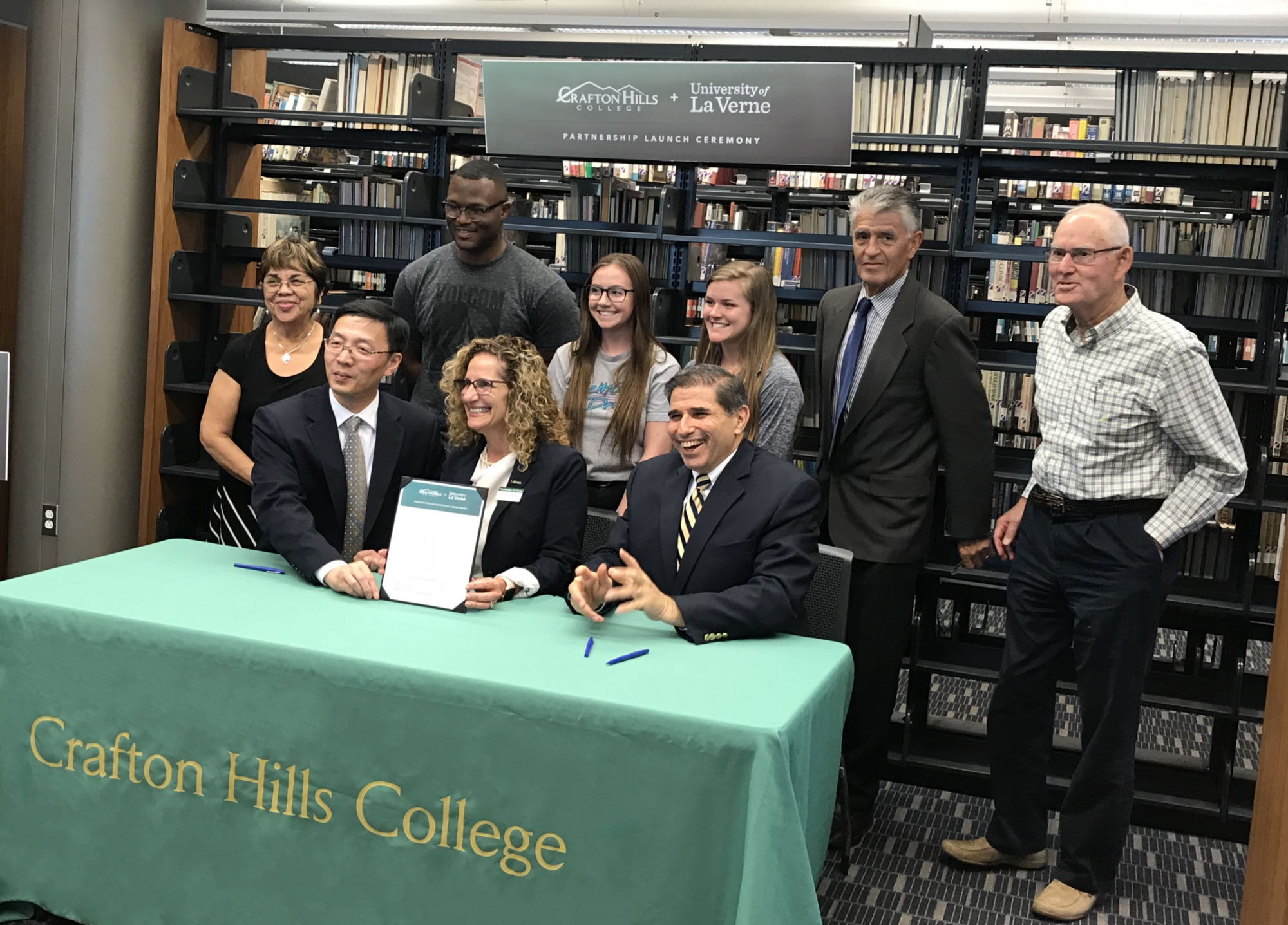 crafton hills college and university of la verne team up