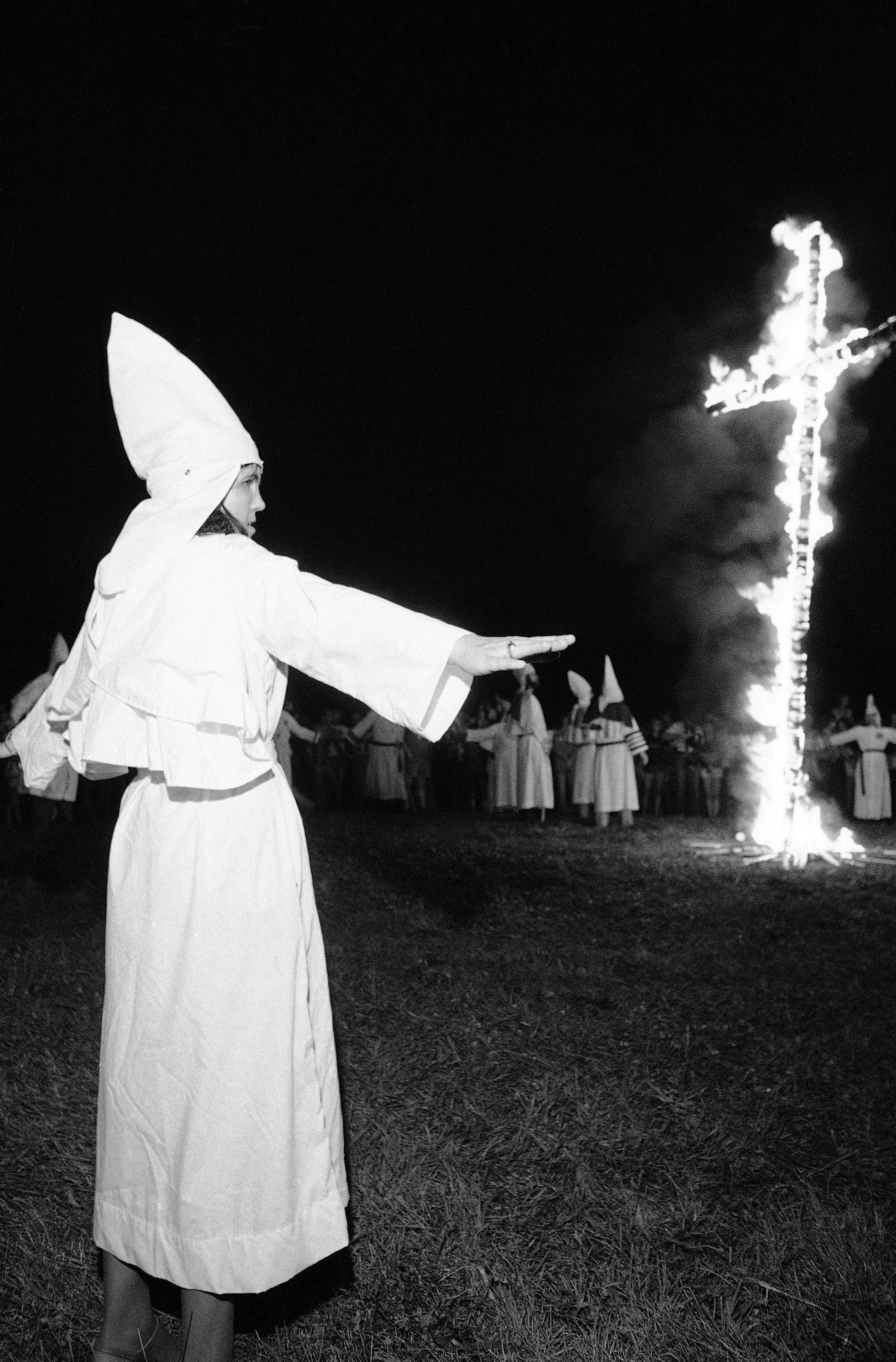 the hatred and atrocities committed by the ku klux klan Members of the ku klux klan participate in cross burnings after a white pride rally near cedar klan members still gather by the dozens under starry southern skies to set fire to crosses in the while today's klan has still been involved in atrocities, there is no way it is as violent as the klan of.